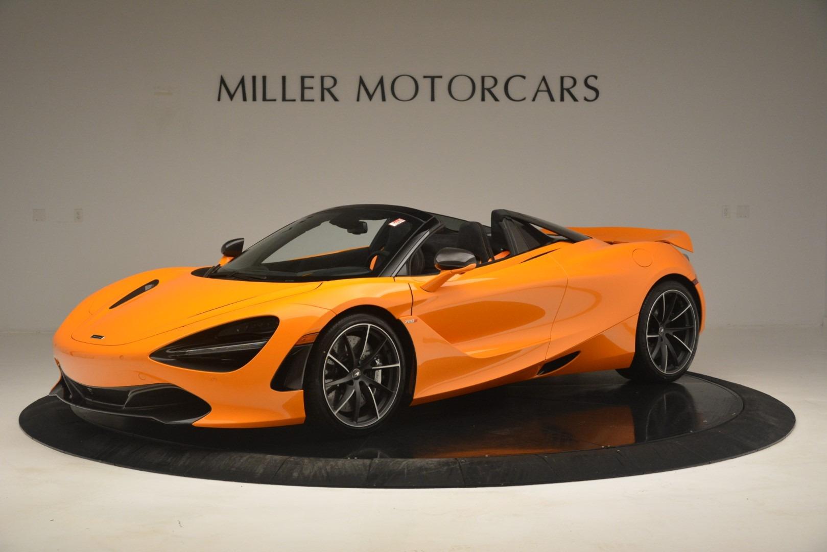 New 2020 McLaren 720S Spider Convertible For Sale In Westport, CT 3080_p2