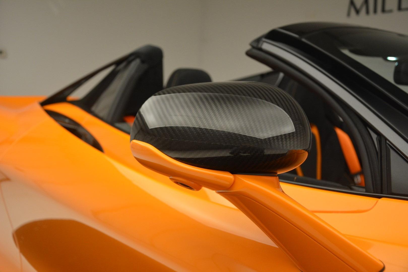 New 2020 McLaren 720S Spider Convertible For Sale In Westport, CT 3080_p32