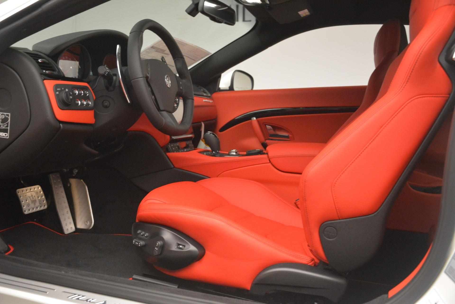 New 2018 Maserati GranTurismo Sport For Sale In Westport, CT 3083_p15