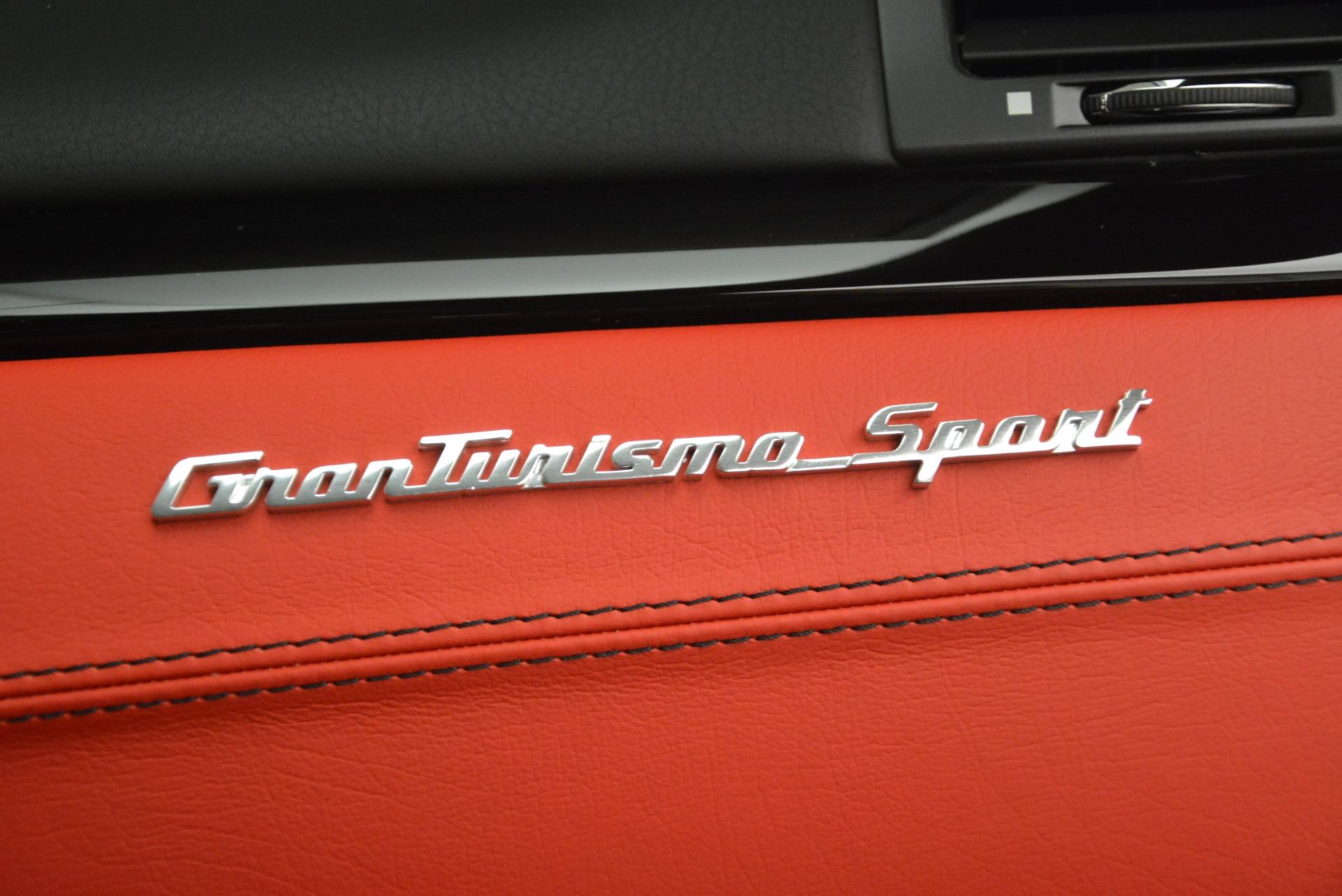 New 2018 Maserati GranTurismo Sport For Sale In Westport, CT 3083_p25