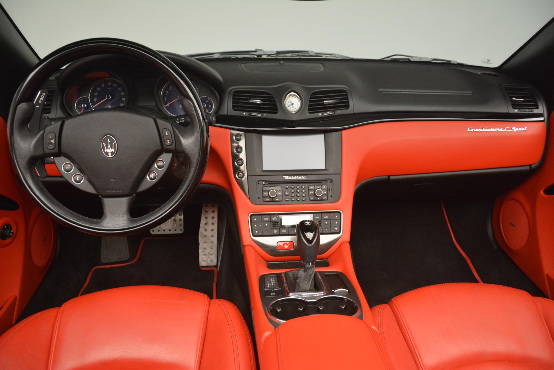Used 2015 Maserati GranTurismo Sport For Sale In Westport, CT 3085_p28