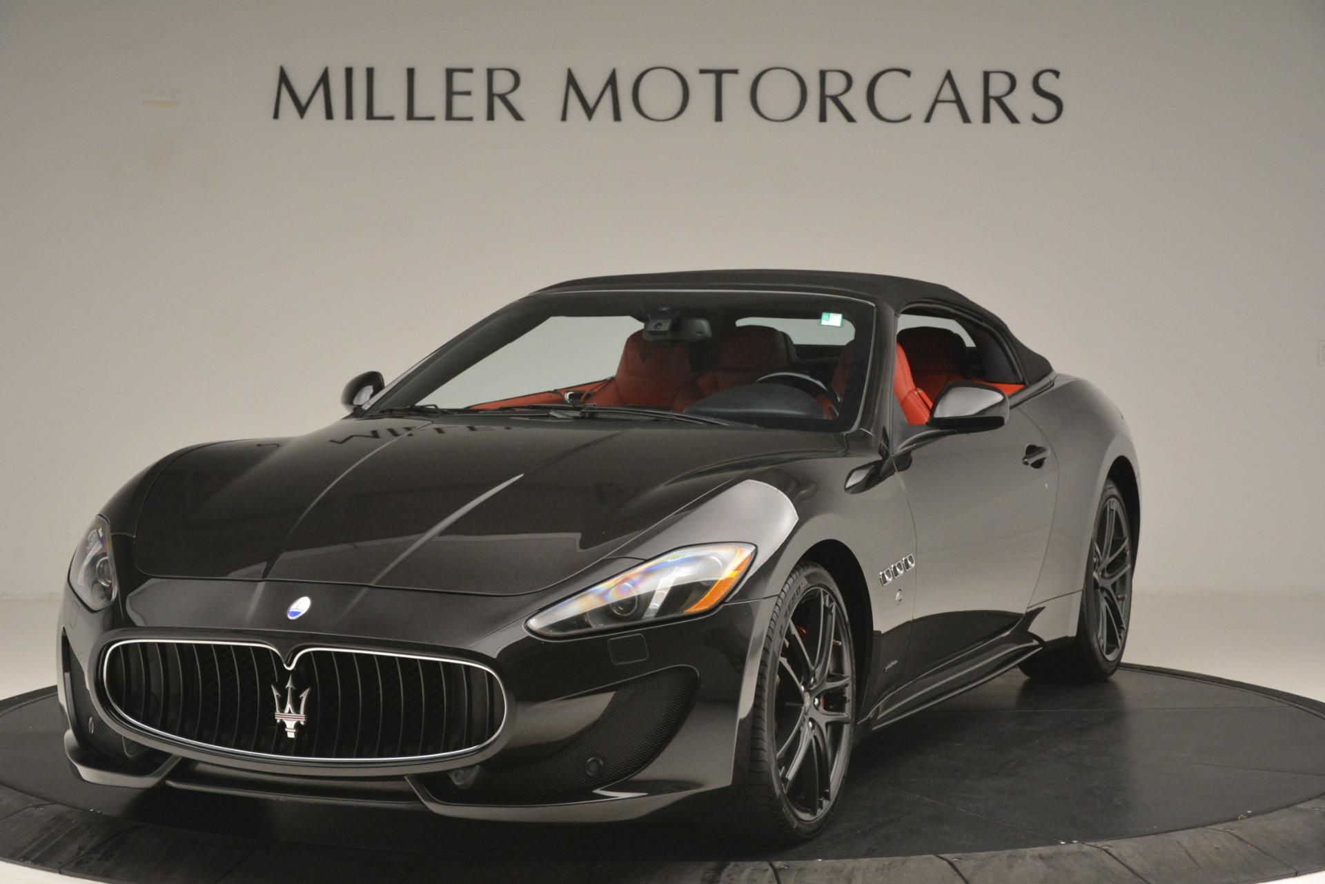 Used 2015 Maserati GranTurismo Sport For Sale In Westport, CT 3085_p2