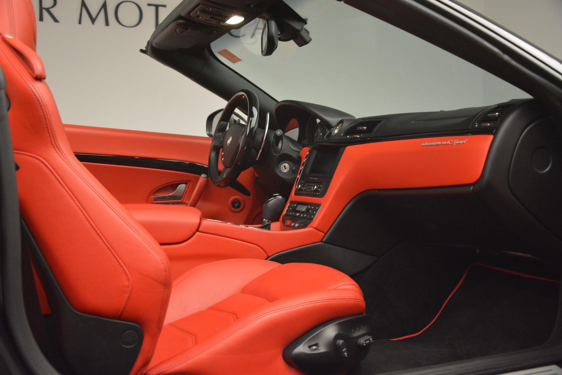 Used 2015 Maserati GranTurismo Sport For Sale In Westport, CT 3085_p34