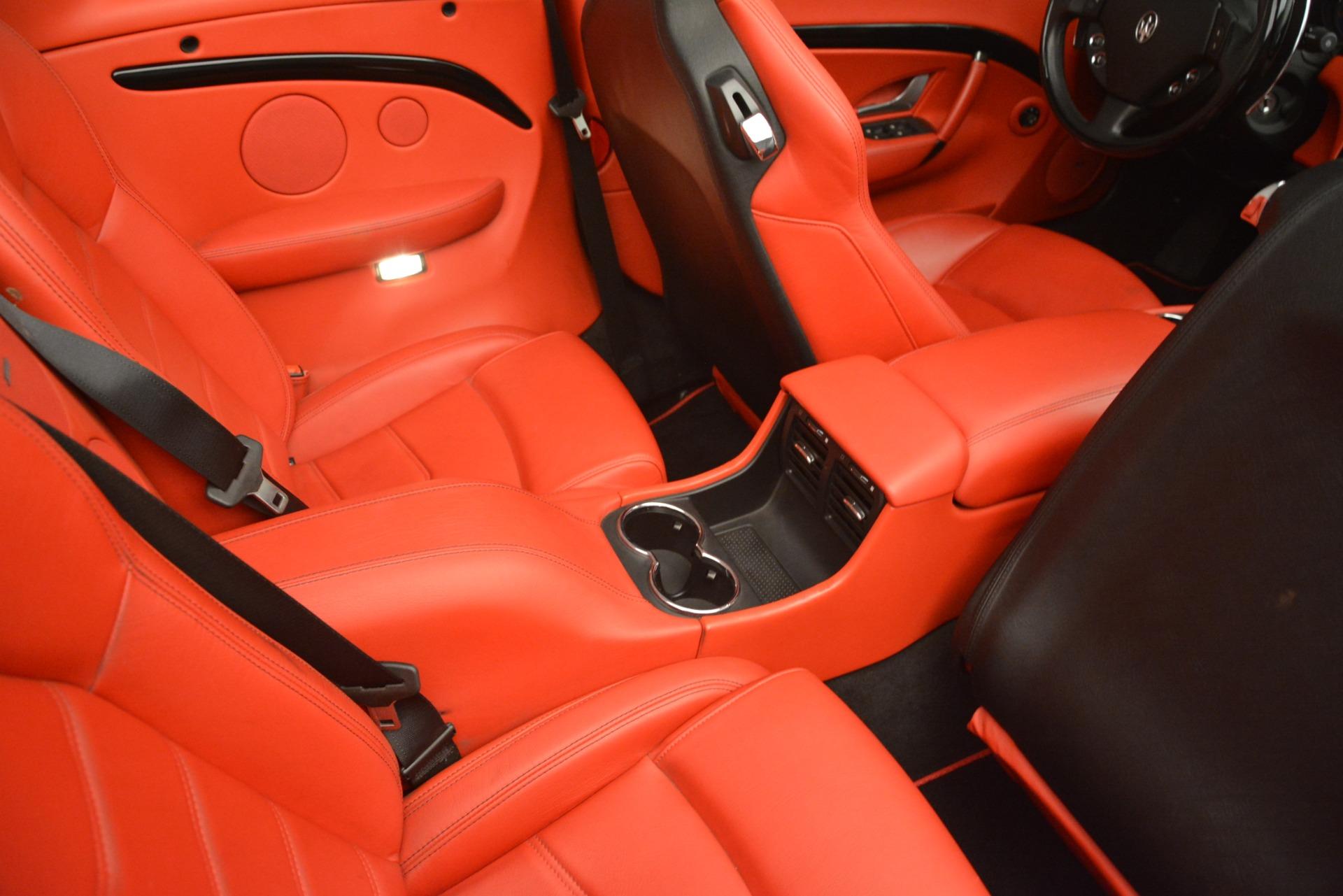 Used 2015 Maserati GranTurismo Sport For Sale In Westport, CT 3085_p39
