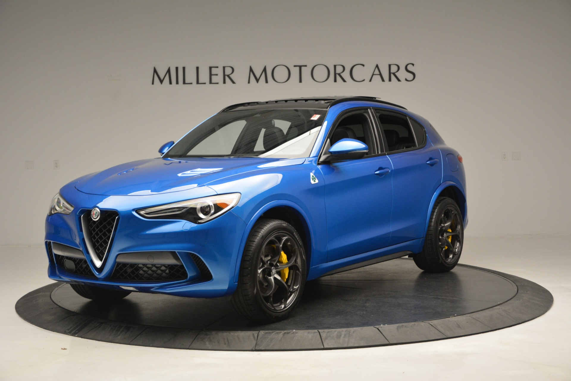 New 2019 Alfa Romeo Stelvio Quadrifoglio For Sale In Westport, CT 3094_p2