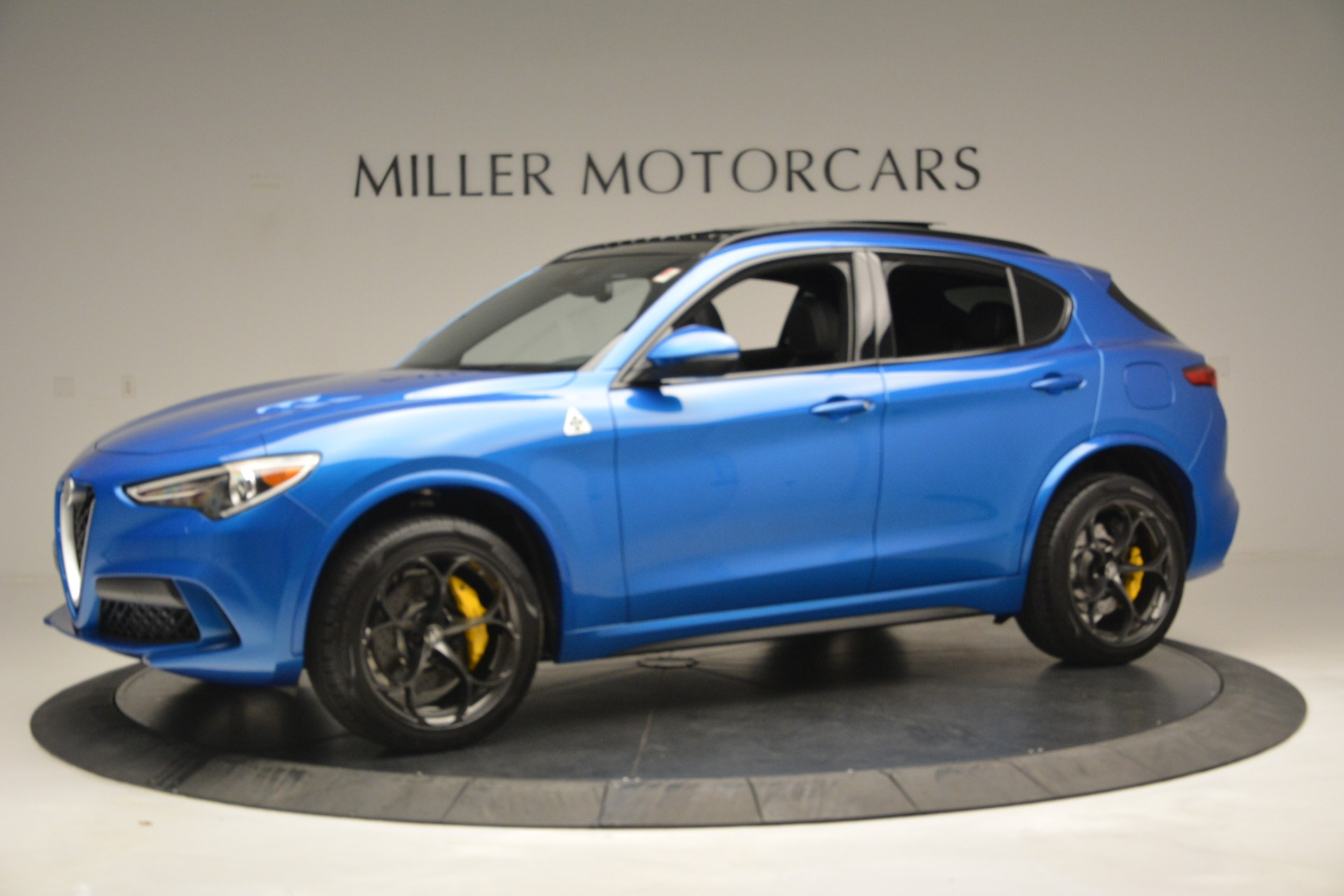 New 2019 Alfa Romeo Stelvio Quadrifoglio For Sale In Westport, CT 3094_p3