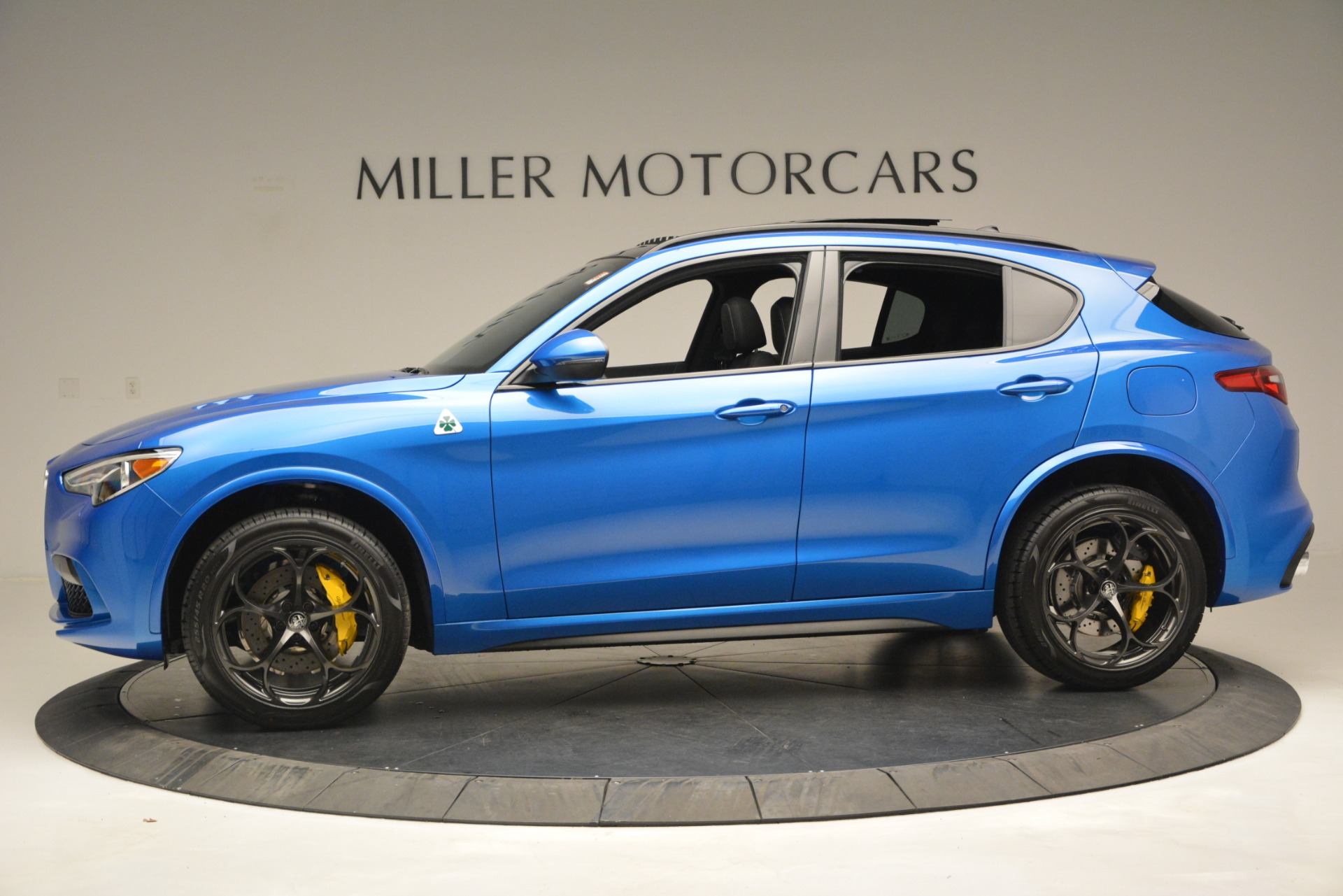 New 2019 Alfa Romeo Stelvio Quadrifoglio For Sale In Westport, CT 3094_p4