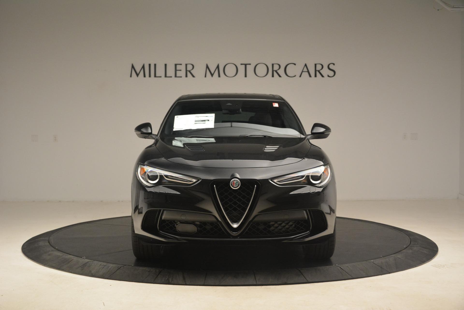 New 2019 Alfa Romeo Stelvio Quadrifoglio For Sale In Westport, CT 3095_p12