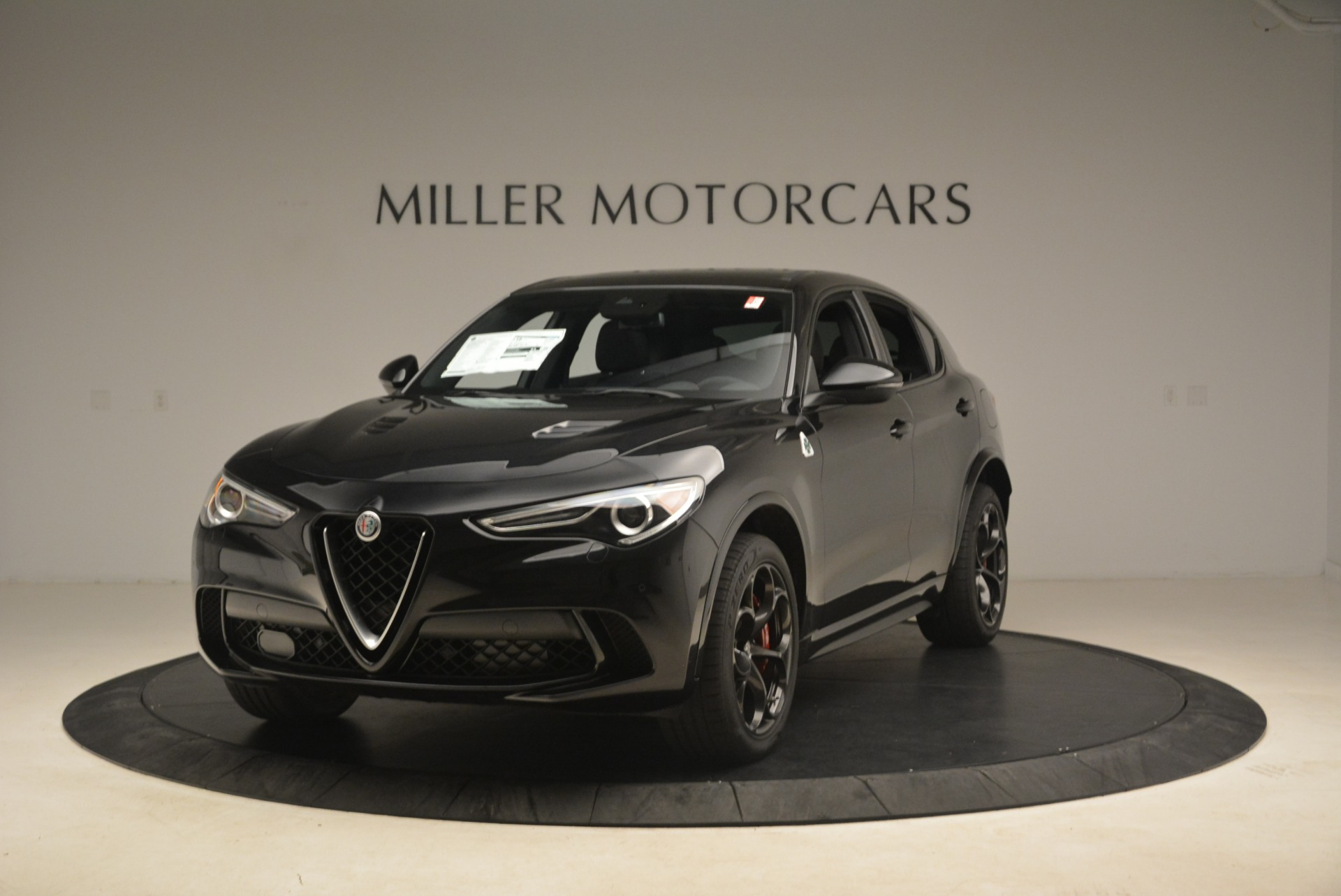 New 2019 Alfa Romeo Stelvio Quadrifoglio For Sale In Westport, CT 3096_main