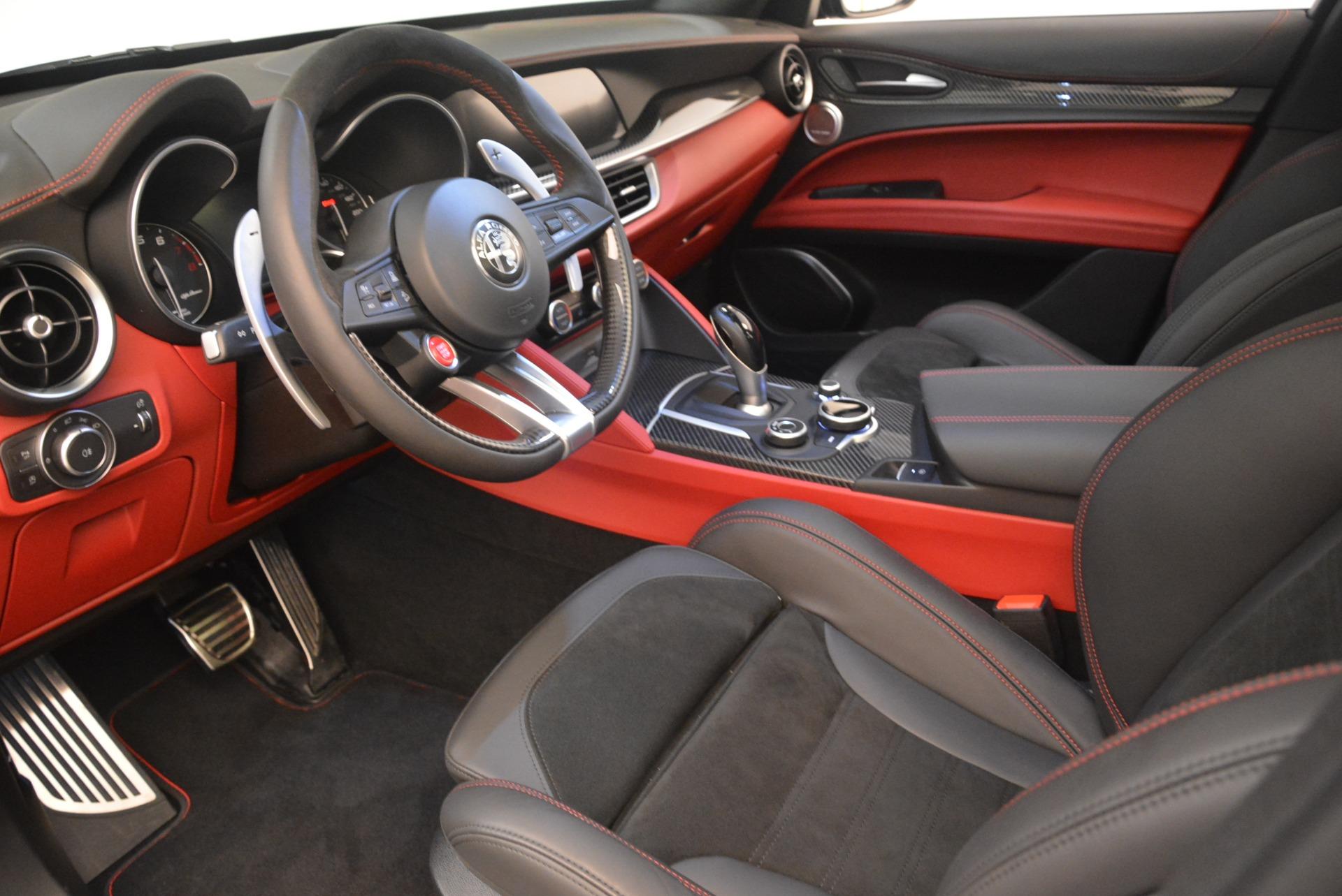 New 2019 Alfa Romeo Stelvio Quadrifoglio For Sale In Westport, CT 3096_p13