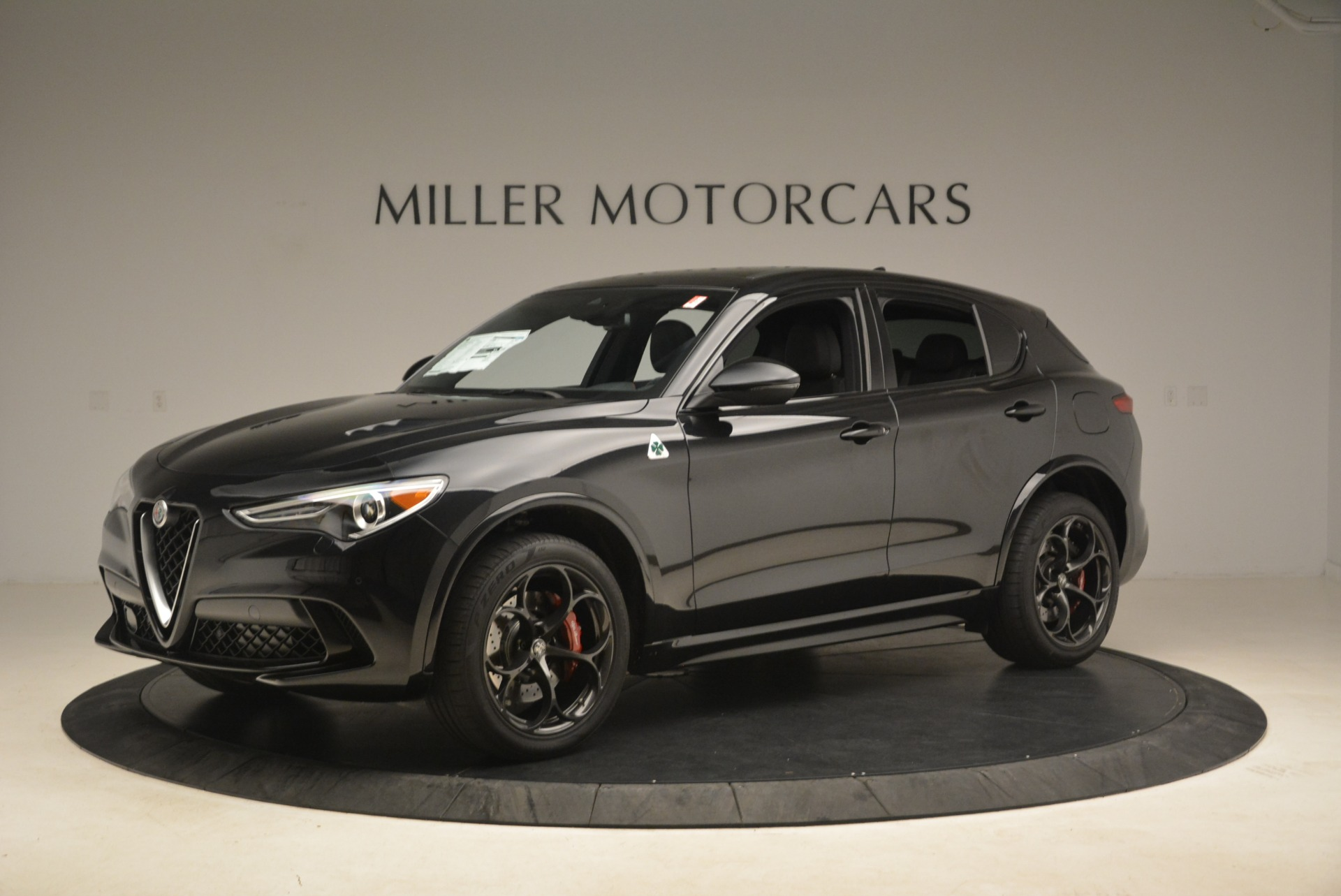 New 2019 Alfa Romeo Stelvio Quadrifoglio For Sale In Westport, CT 3096_p2
