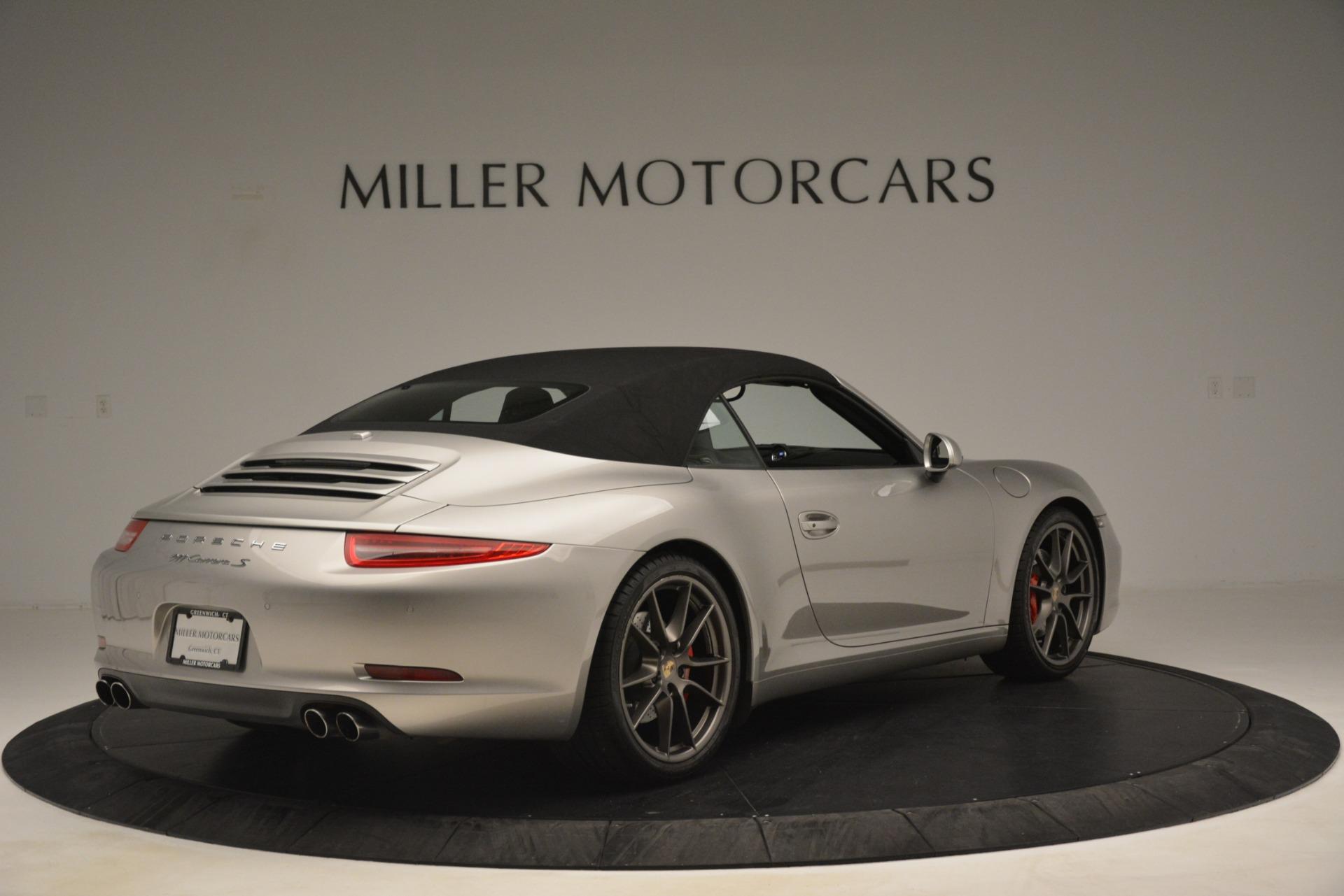 Used 2013 Porsche 911 Carrera S For Sale In Westport, CT 3107_p17