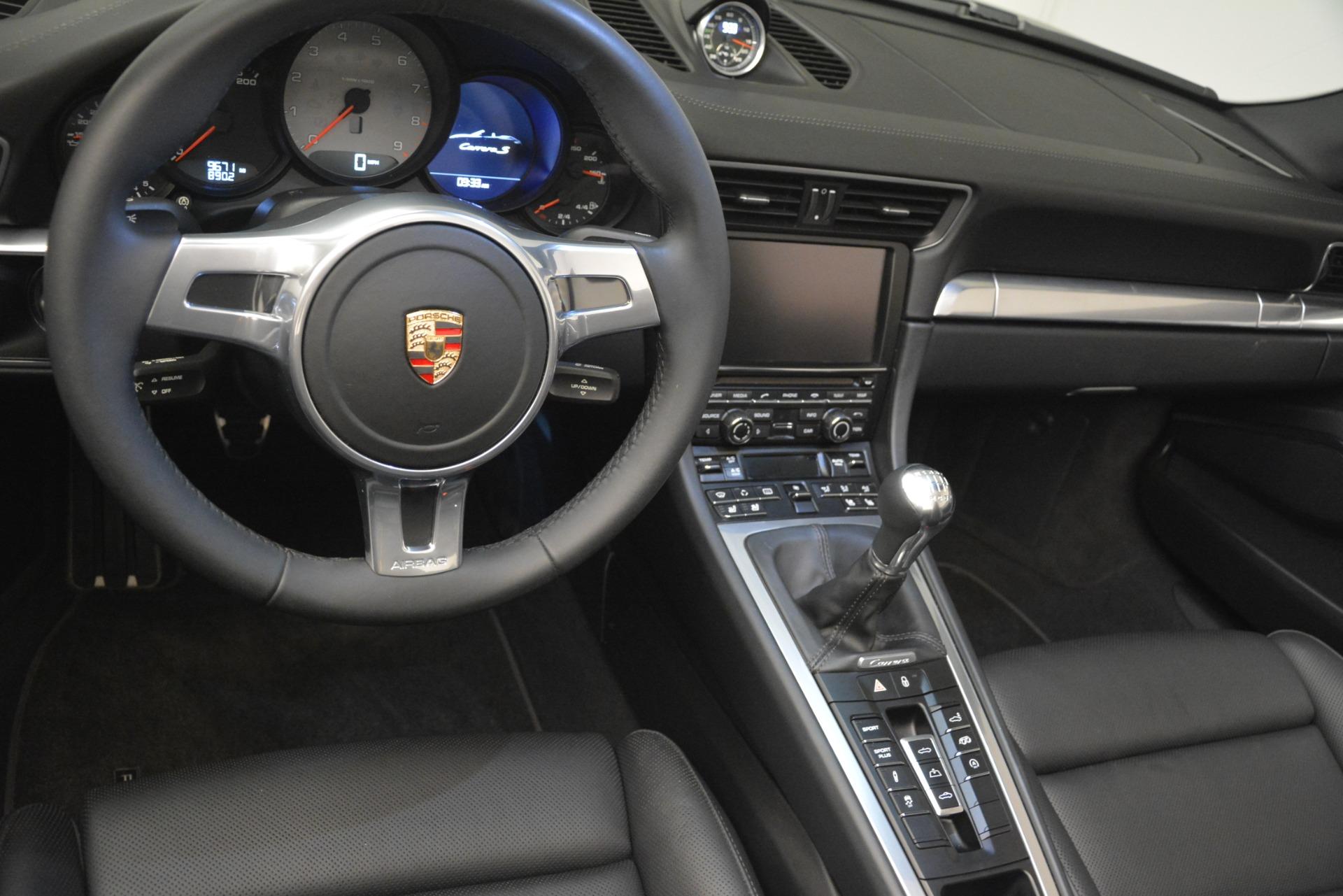 Used 2013 Porsche 911 Carrera S For Sale In Westport, CT 3107_p23