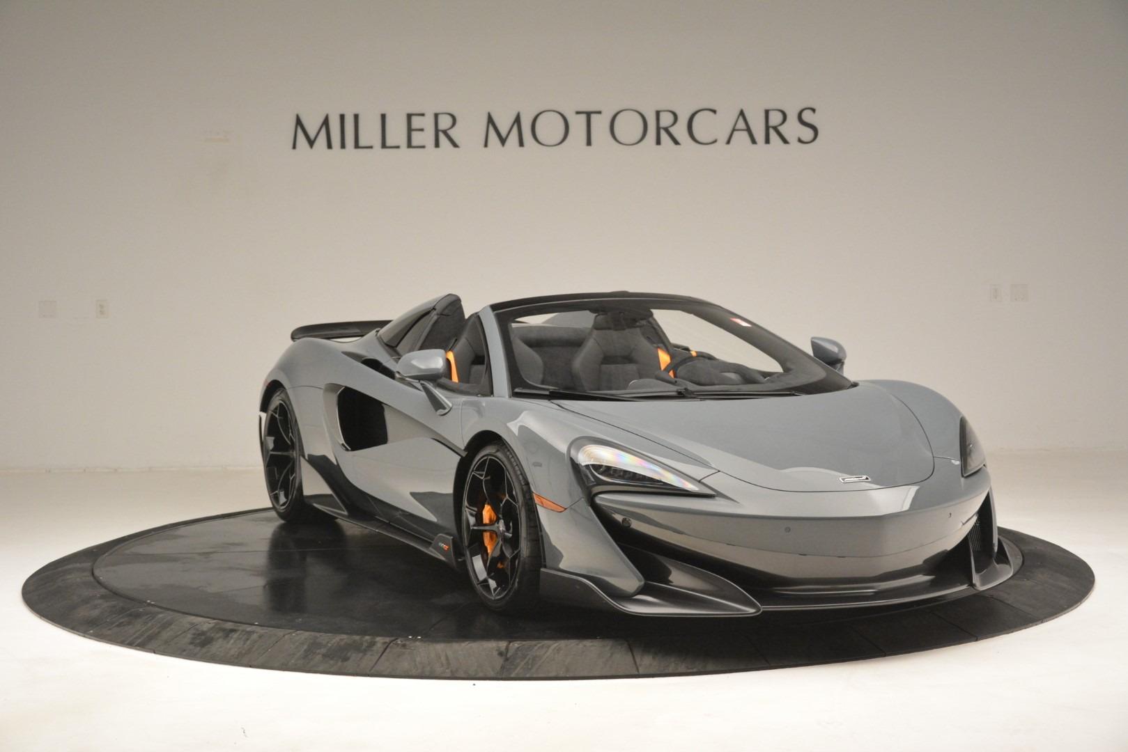 New 2020 McLaren 600LT Spider Convertible For Sale In Westport, CT 3110_p11