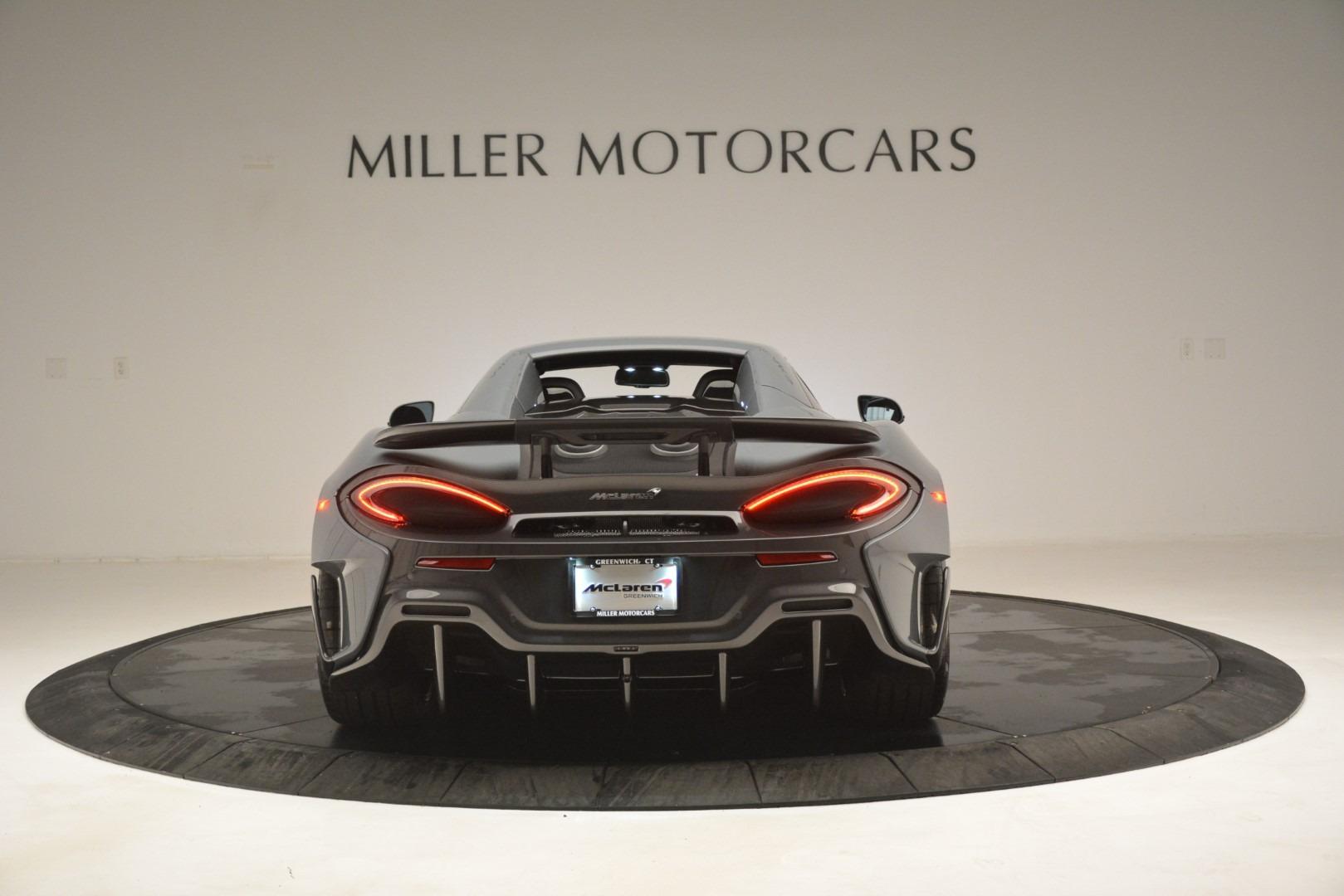 New 2020 McLaren 600LT Spider Convertible For Sale In Westport, CT 3110_p18