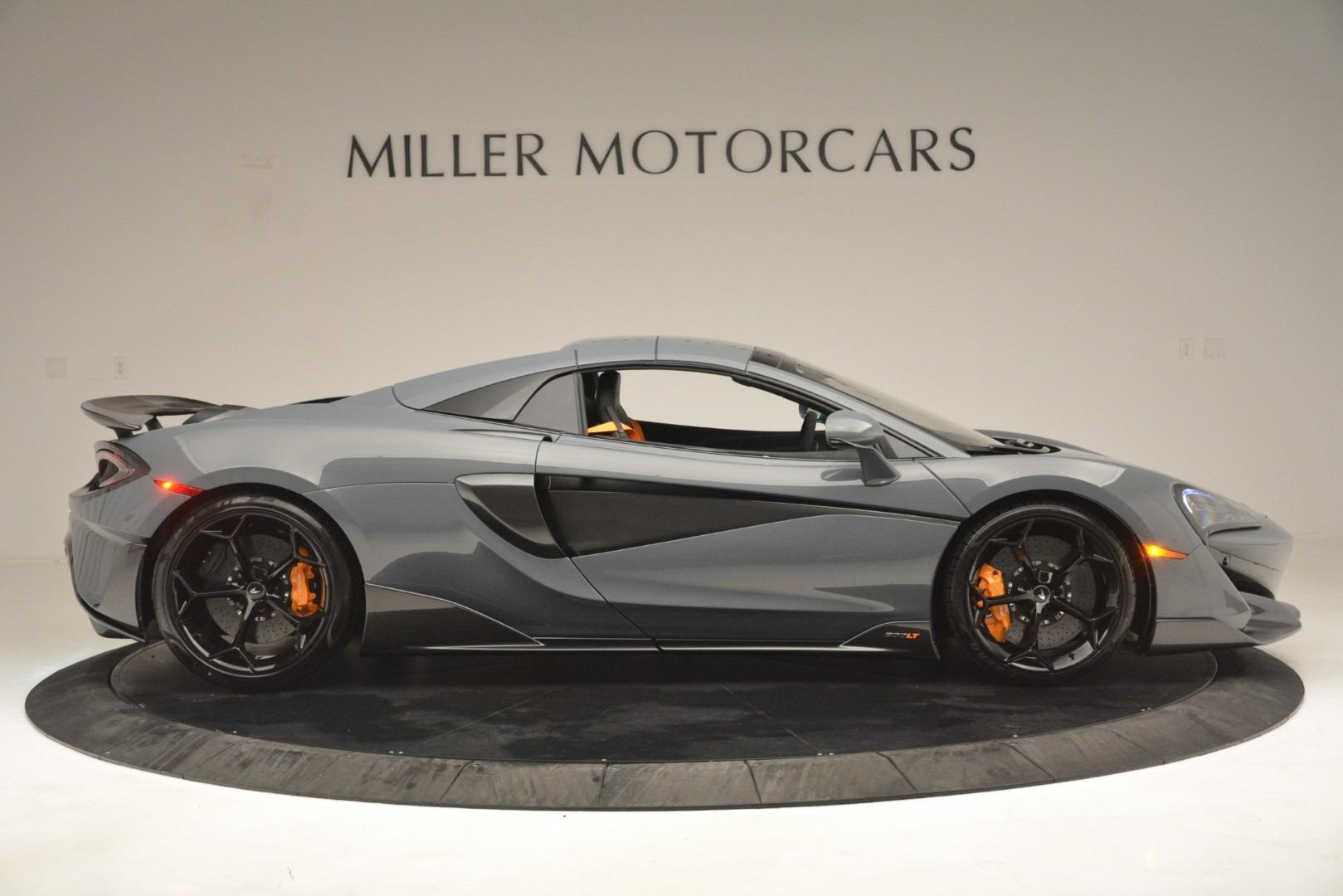 New 2020 McLaren 600LT Spider Convertible For Sale In Westport, CT 3110_p20