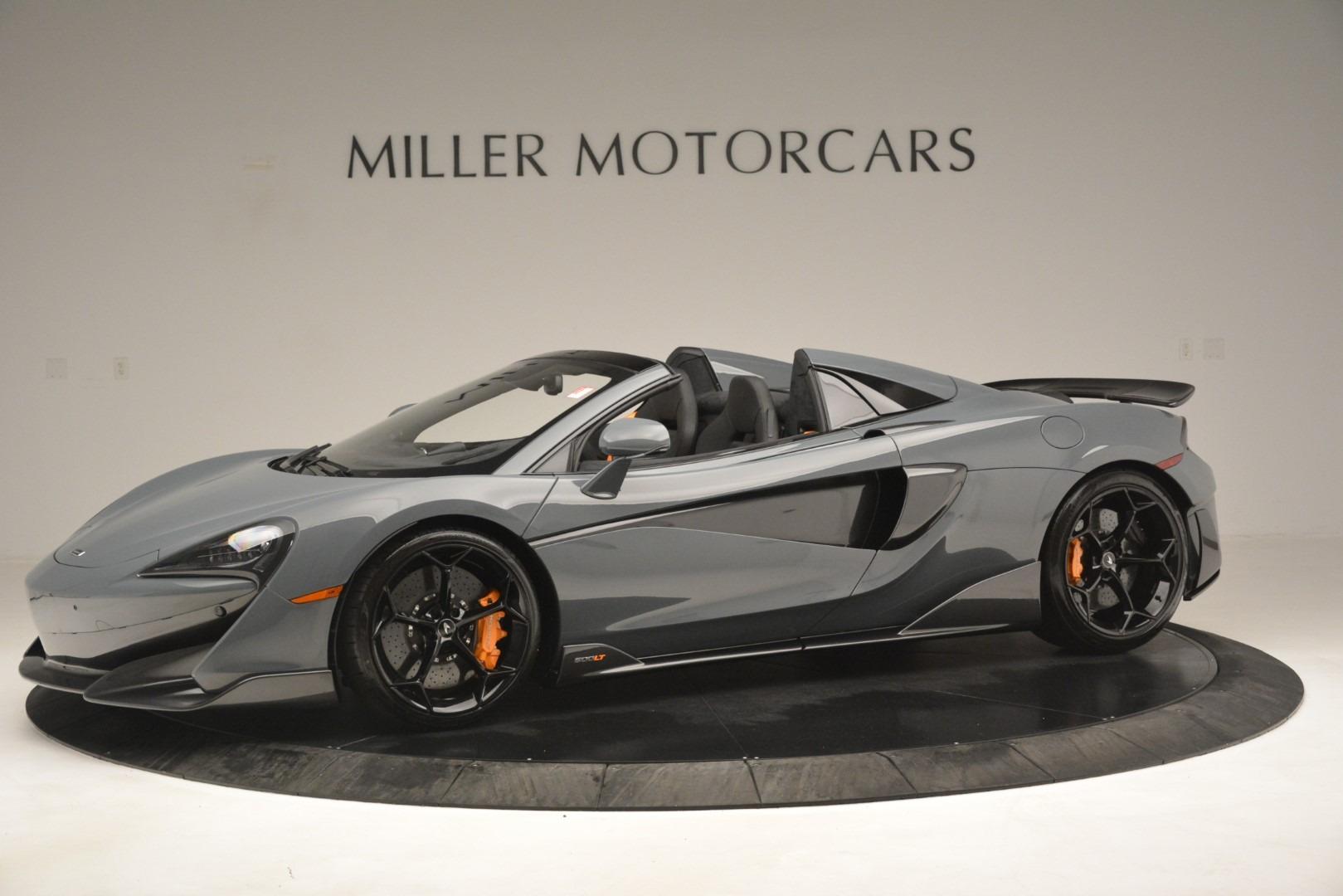 New 2020 McLaren 600LT Spider Convertible For Sale In Westport, CT 3110_p2