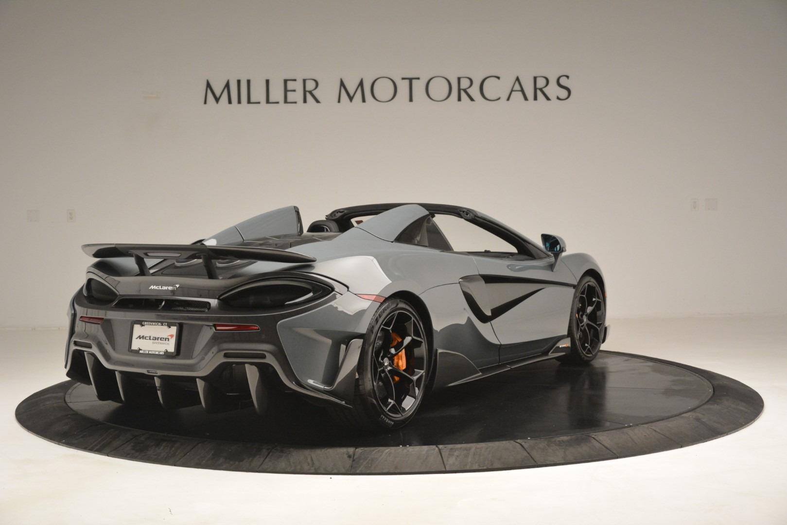 New 2020 McLaren 600LT Spider Convertible For Sale In Westport, CT 3110_p7