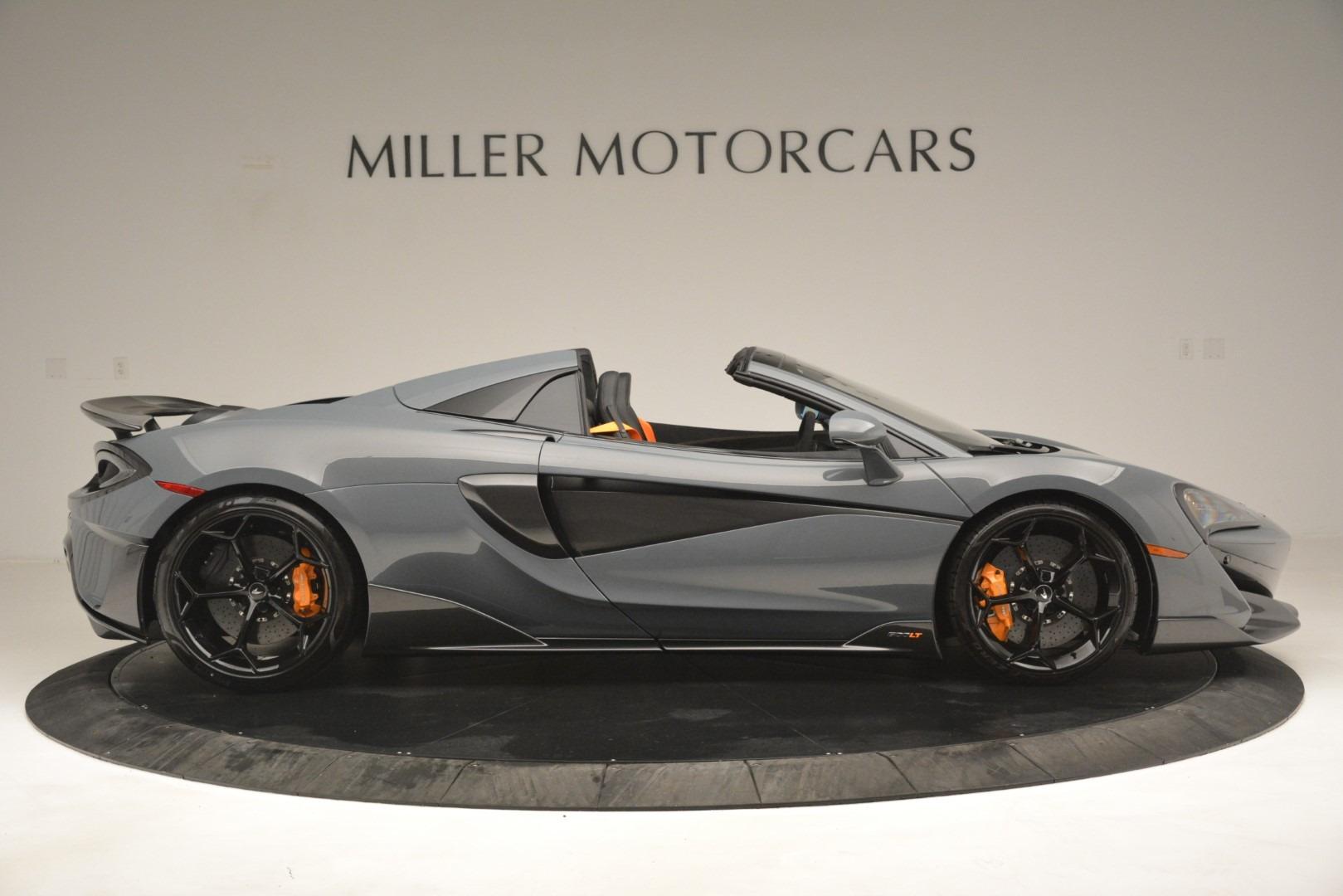 New 2020 McLaren 600LT Spider Convertible For Sale In Westport, CT 3110_p9