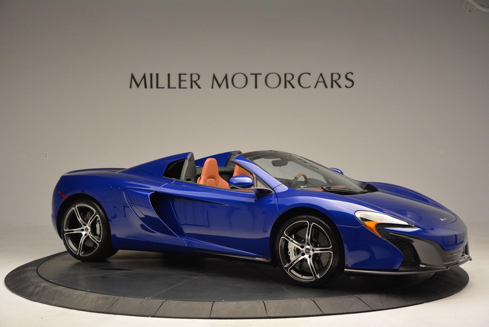 Used 2015 McLaren 650S Spider Convertible For Sale In Westport, CT 3112_p10