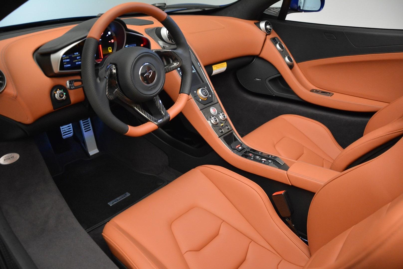 Used 2015 McLaren 650S Spider Convertible For Sale In Westport, CT 3112_p22