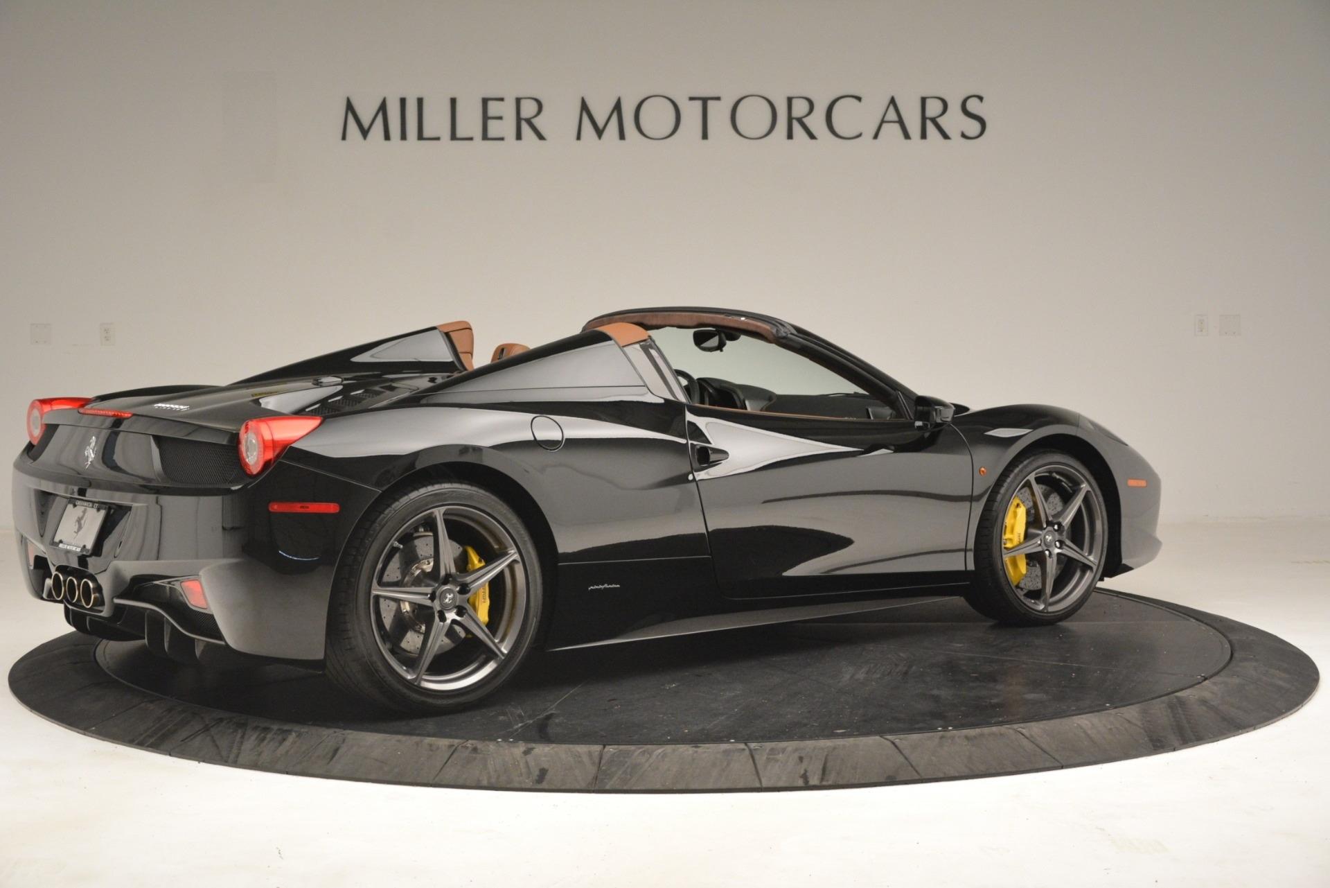Used 2013 Ferrari 458 Spider  For Sale In Westport, CT 3114_p8