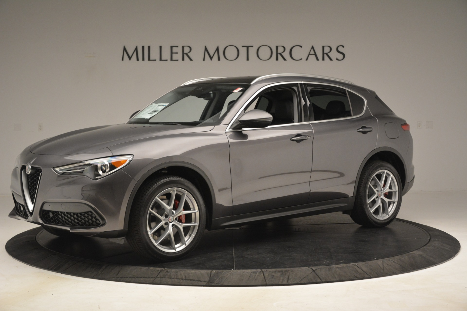 New 2019 Alfa Romeo Stelvio Ti Lusso Q4 For Sale In Westport, CT 3128_p2
