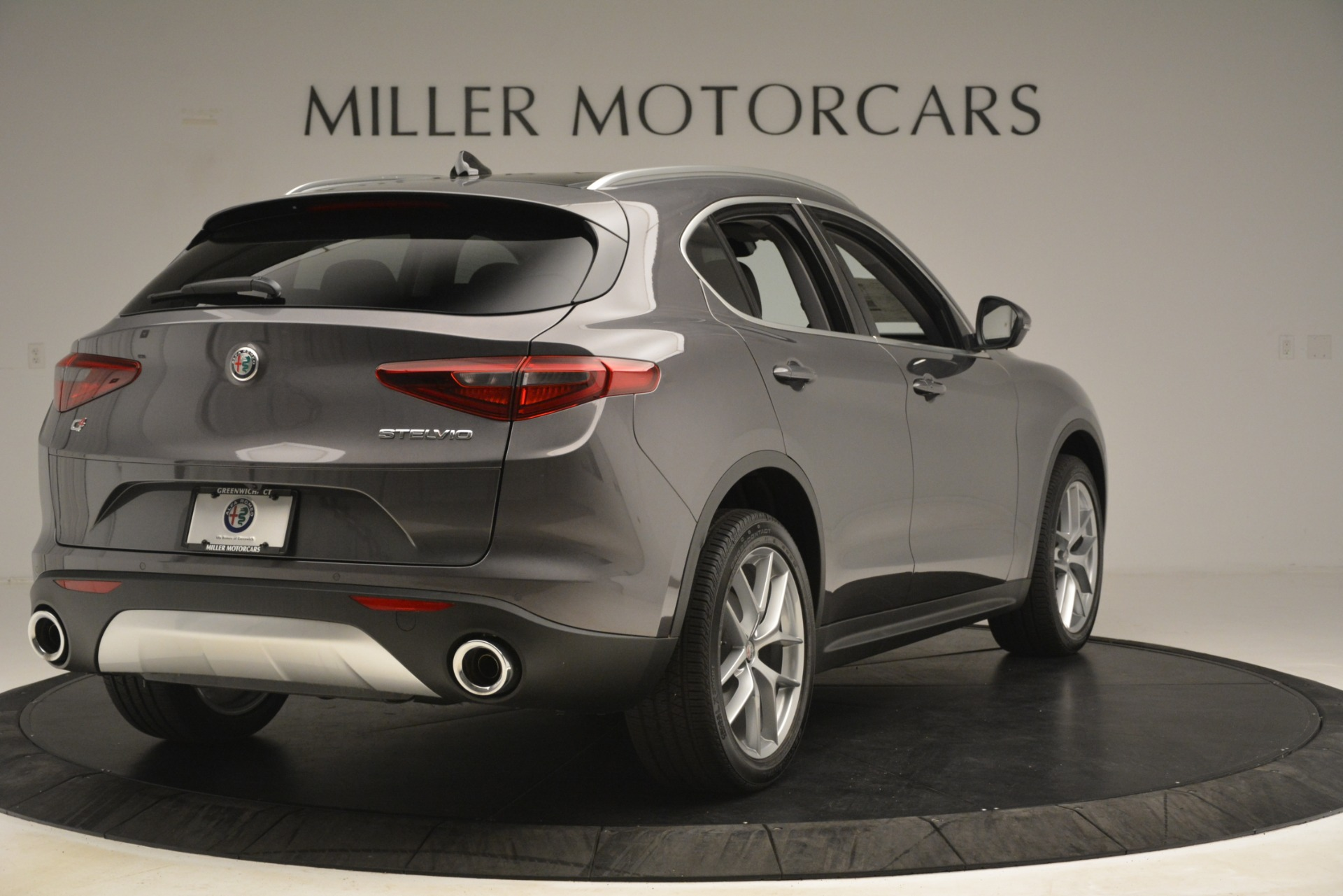 New 2019 Alfa Romeo Stelvio Ti Lusso Q4 For Sale In Westport, CT 3128_p7