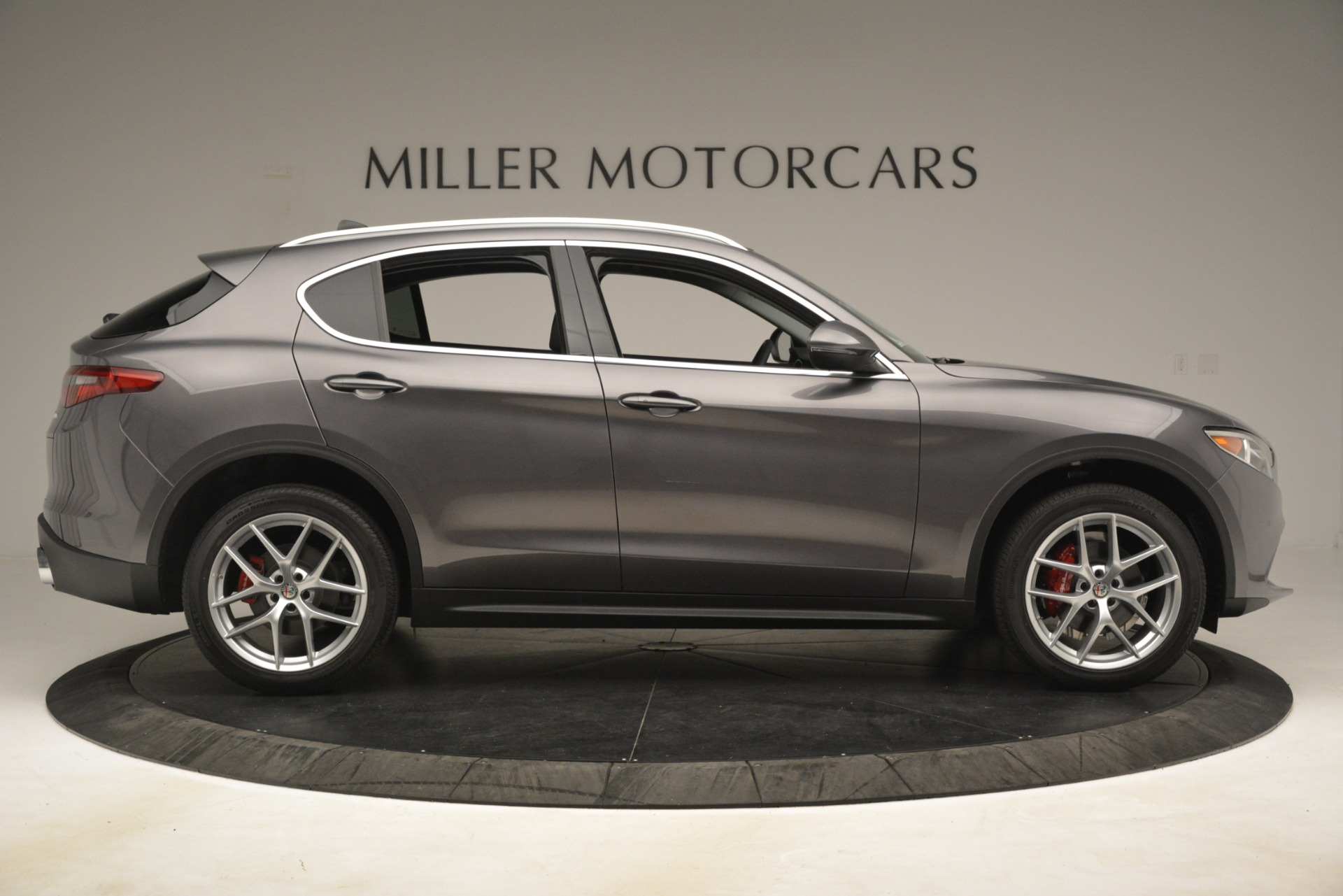 New 2019 Alfa Romeo Stelvio Ti Lusso Q4 For Sale In Westport, CT 3129_p9