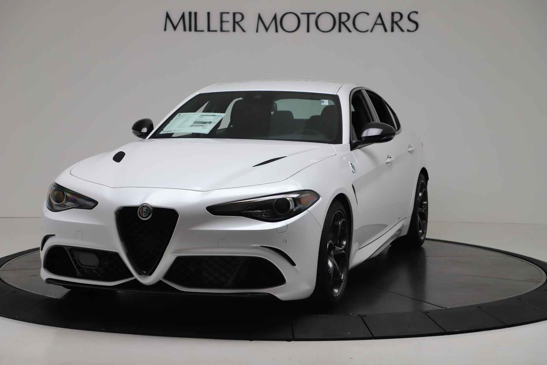 New 2019 Alfa Romeo Giulia Quadrifoglio For Sale In Westport, CT 3130_main