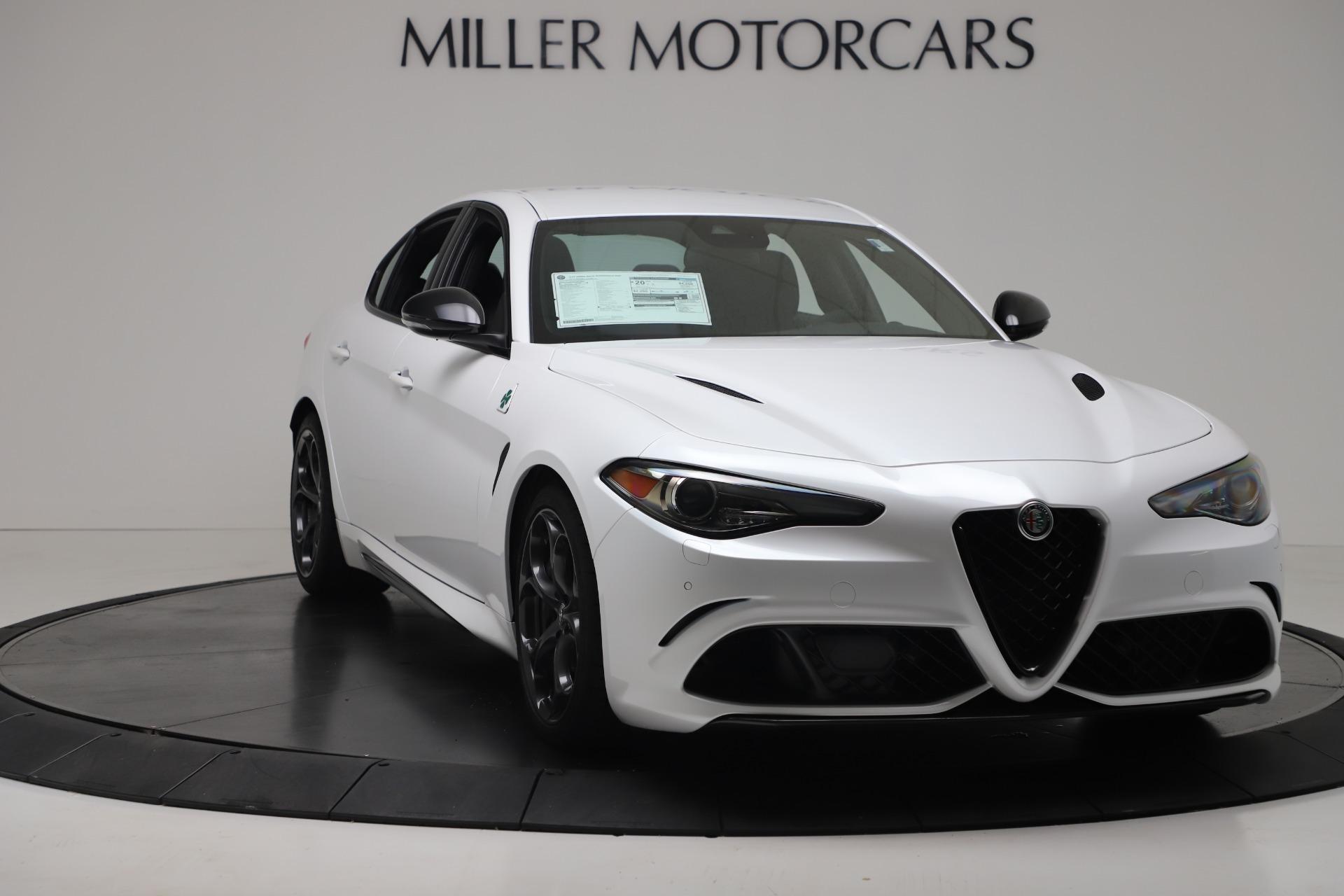 New 2019 Alfa Romeo Giulia Quadrifoglio For Sale In Westport, CT 3130_p11