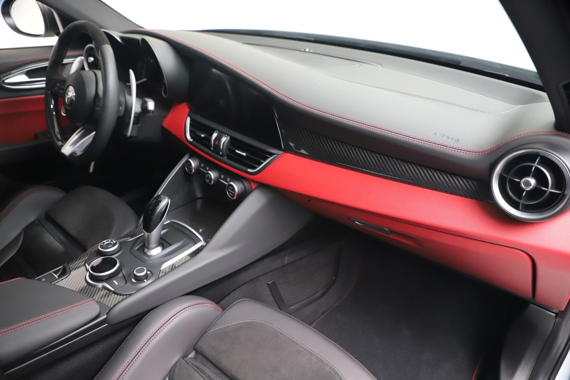 New 2019 Alfa Romeo Giulia Quadrifoglio For Sale In Westport, CT 3130_p22