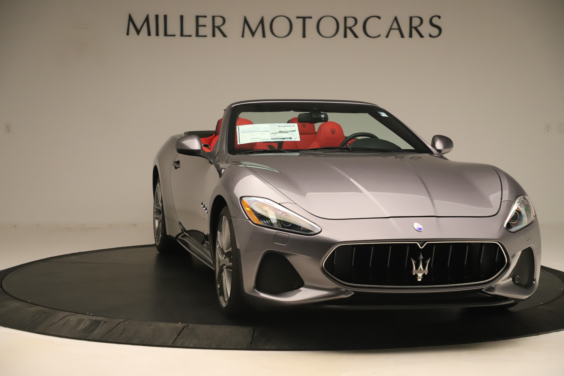 New 2018 Maserati GranTurismo Sport Convertible For Sale In Westport, CT 3131_p11