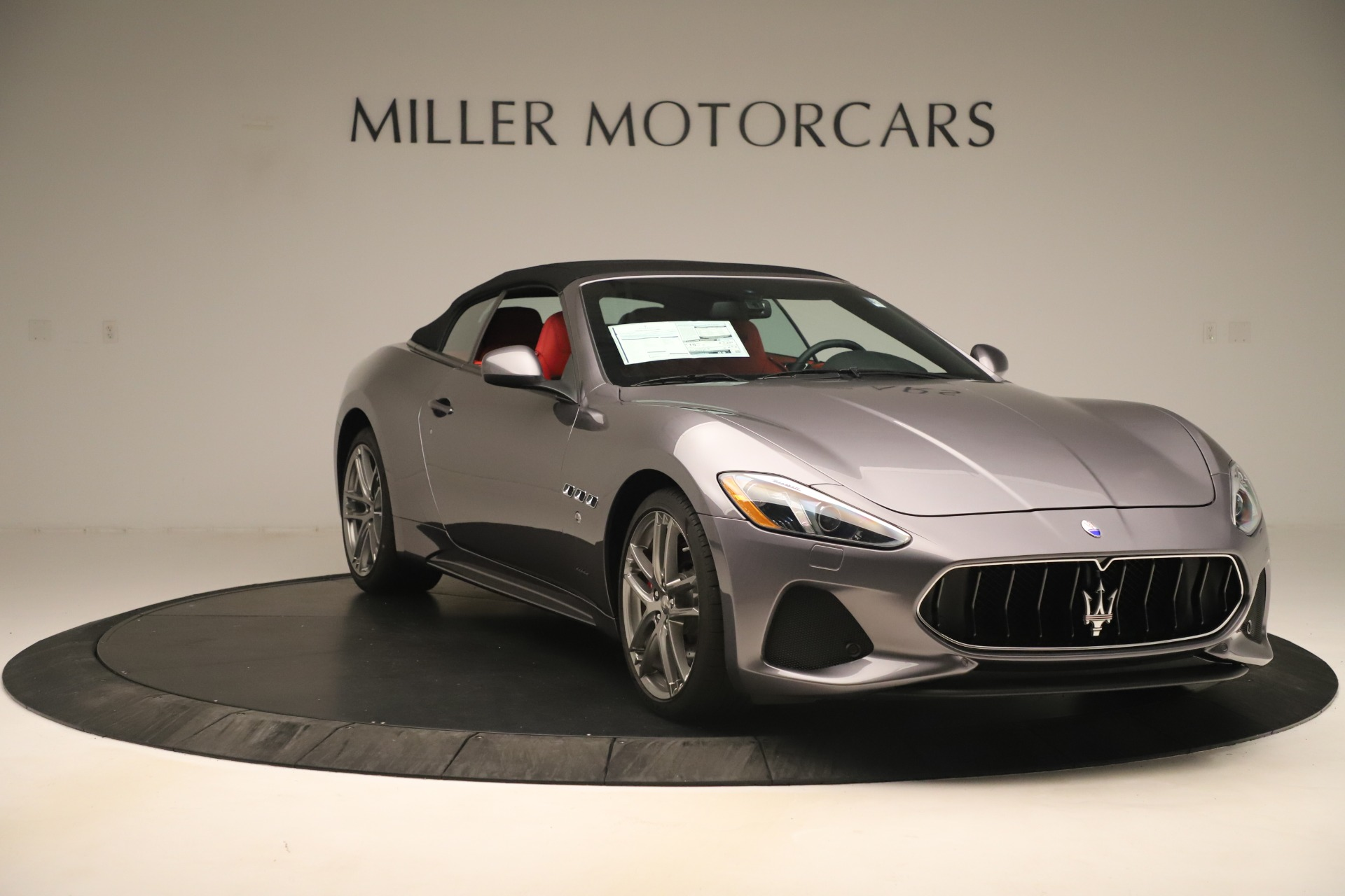 New 2018 Maserati GranTurismo Sport Convertible For Sale In Westport, CT 3131_p18