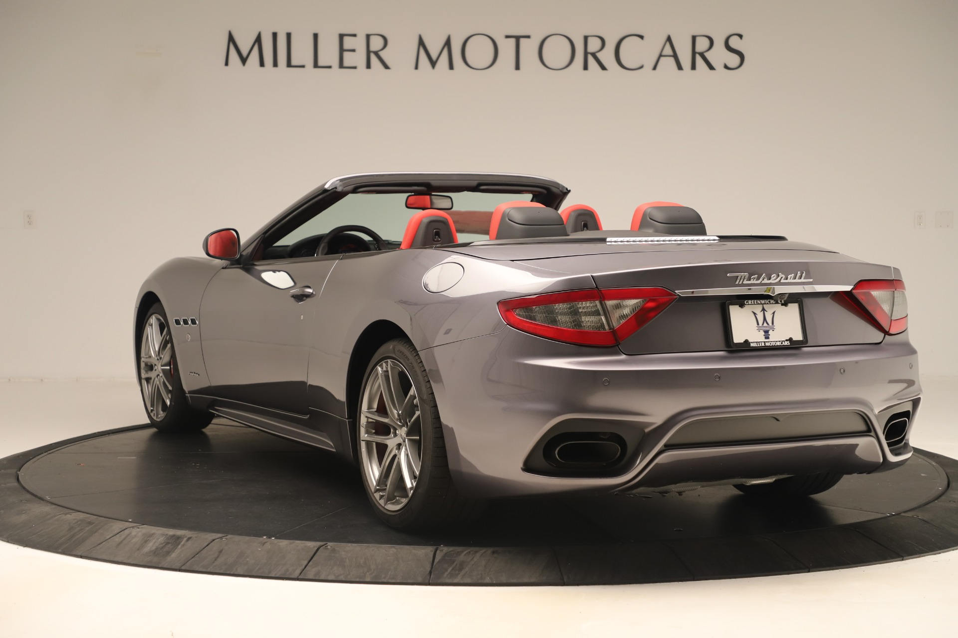 New 2018 Maserati GranTurismo Sport Convertible For Sale In Westport, CT 3131_p5