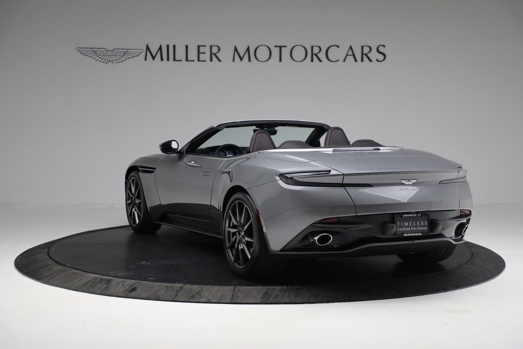 New 2019 Aston Martin DB11 V8 Convertible For Sale In Westport, CT 3136_p3
