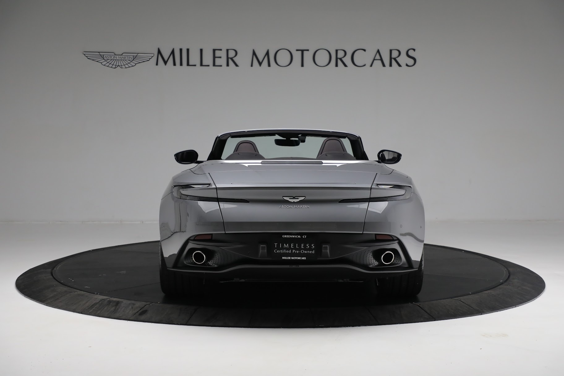 New 2019 Aston Martin DB11 V8 Convertible For Sale In Westport, CT 3136_p5