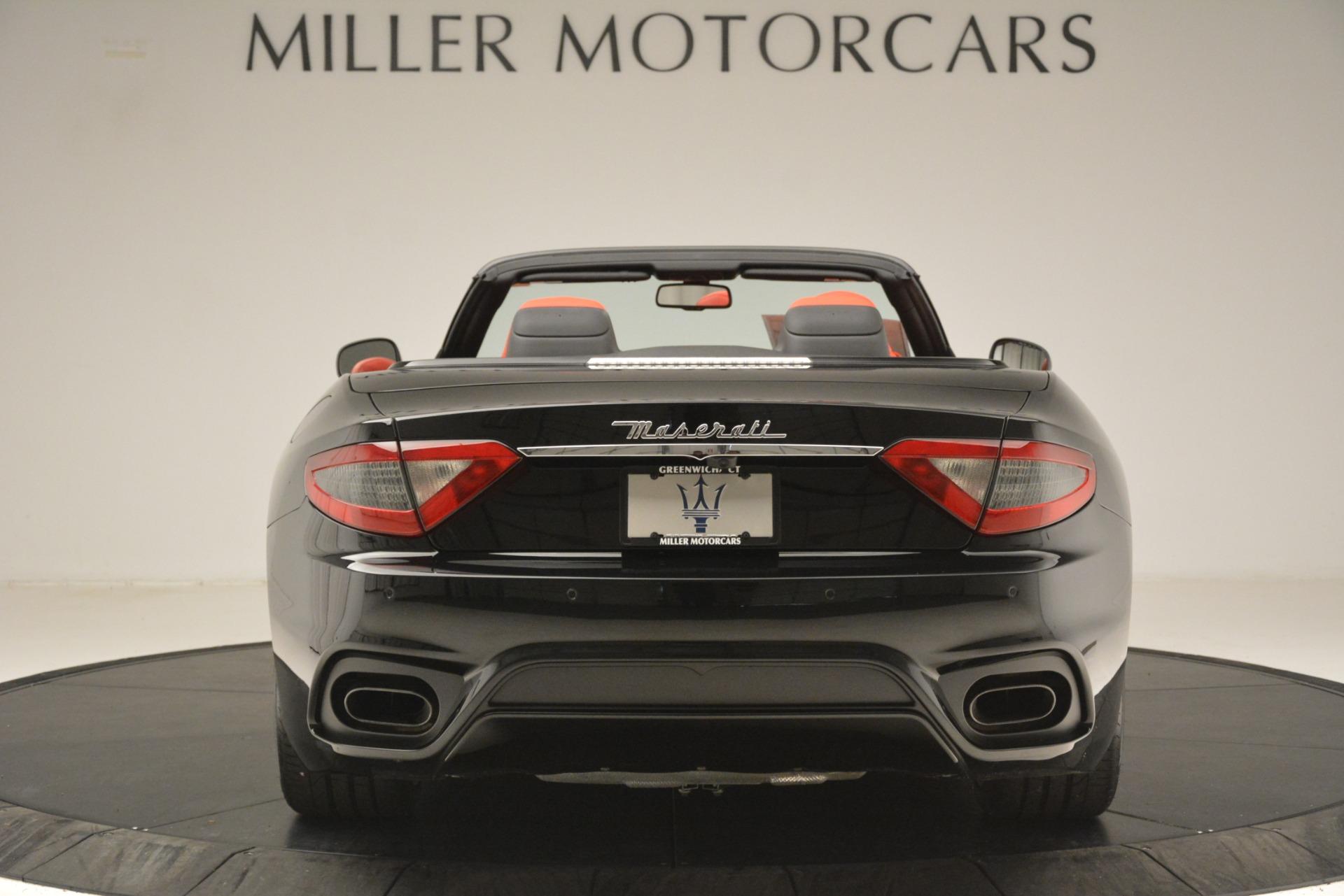 New 2018 Maserati GranTurismo Sport Convertible For Sale In Westport, CT 3137_p11