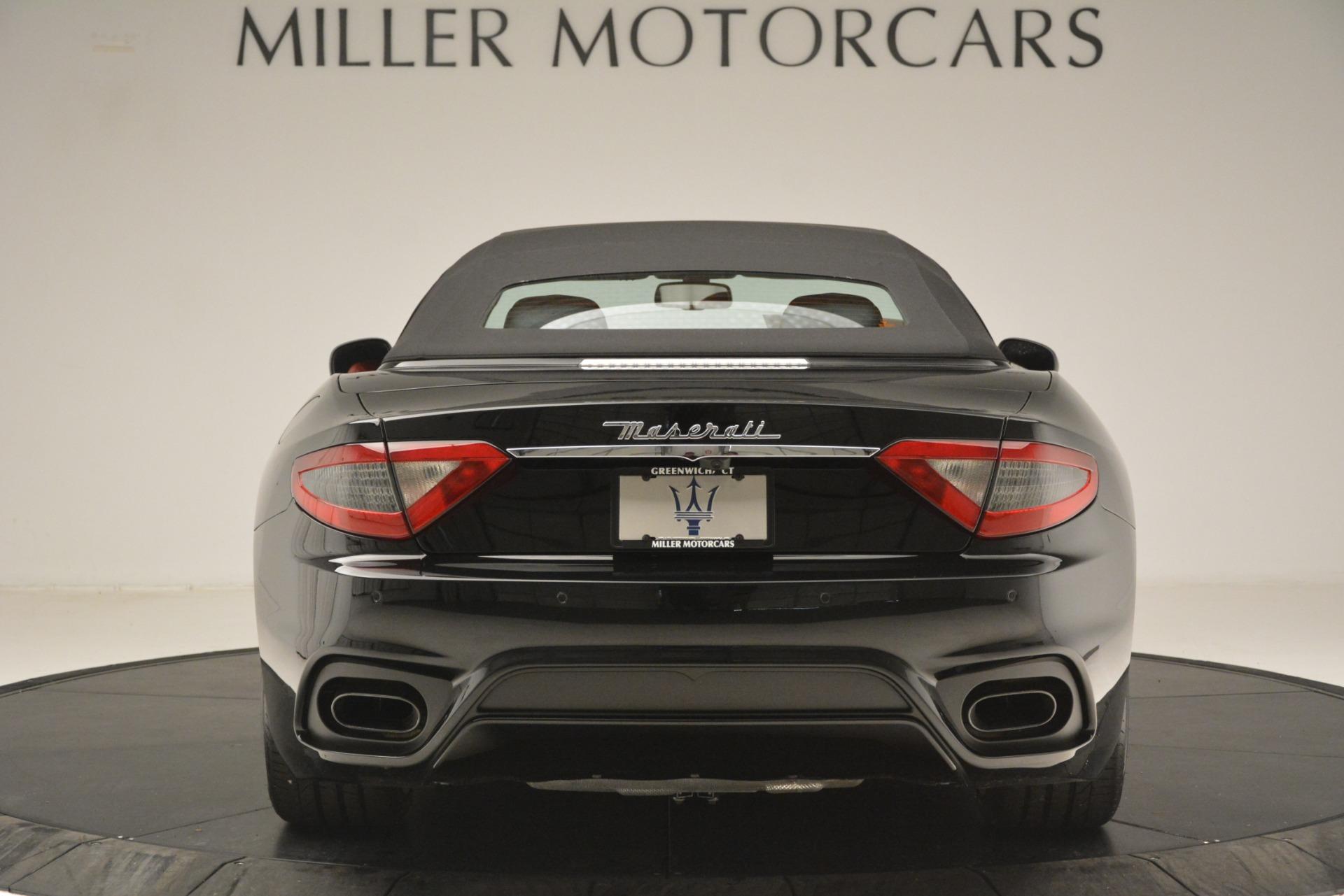 New 2018 Maserati GranTurismo Sport Convertible For Sale In Westport, CT 3137_p12