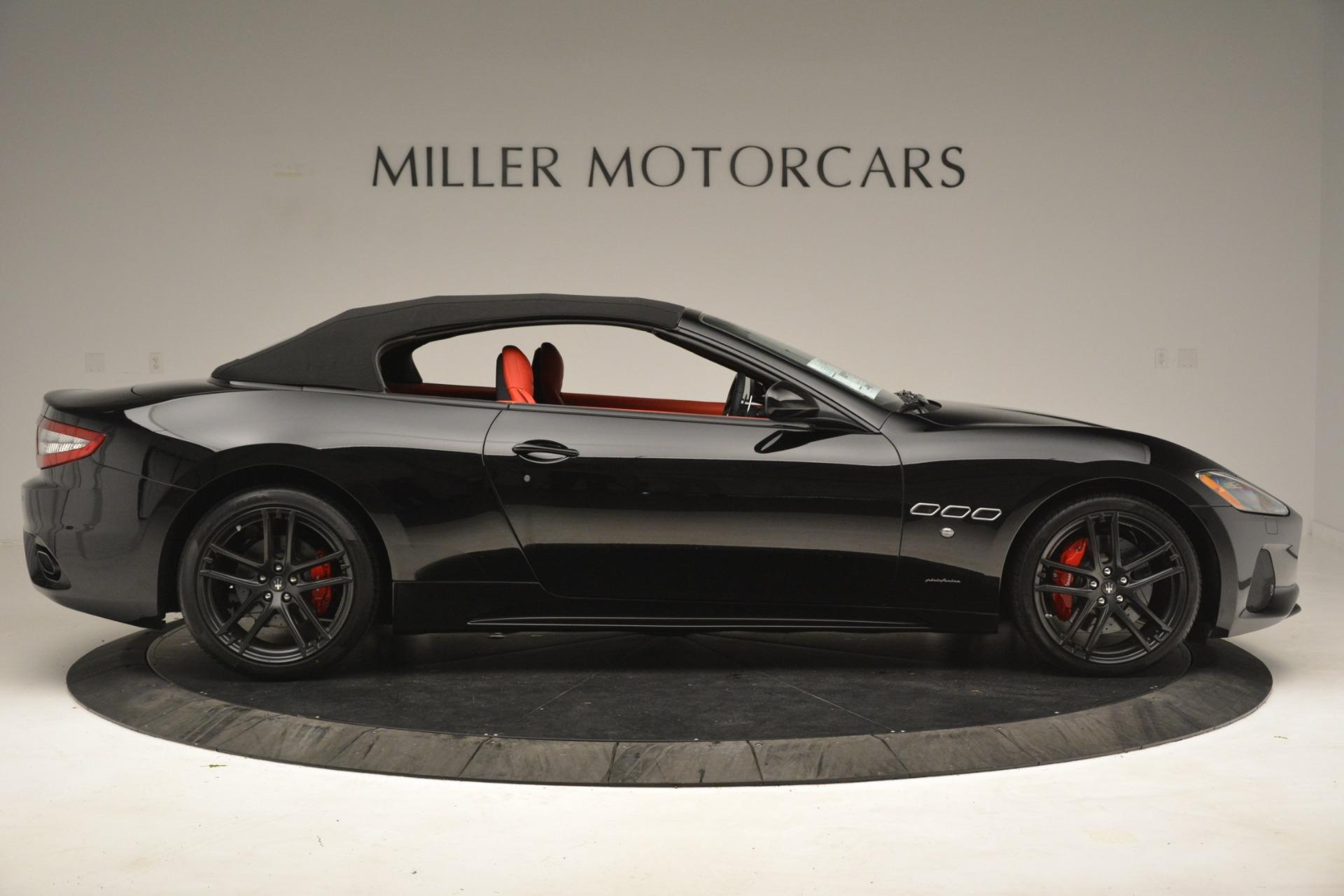 New 2018 Maserati GranTurismo Sport Convertible For Sale In Westport, CT 3137_p18