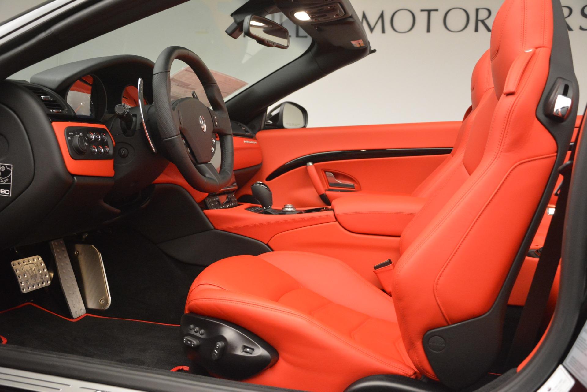 New 2018 Maserati GranTurismo Sport Convertible For Sale In Westport, CT 3137_p26