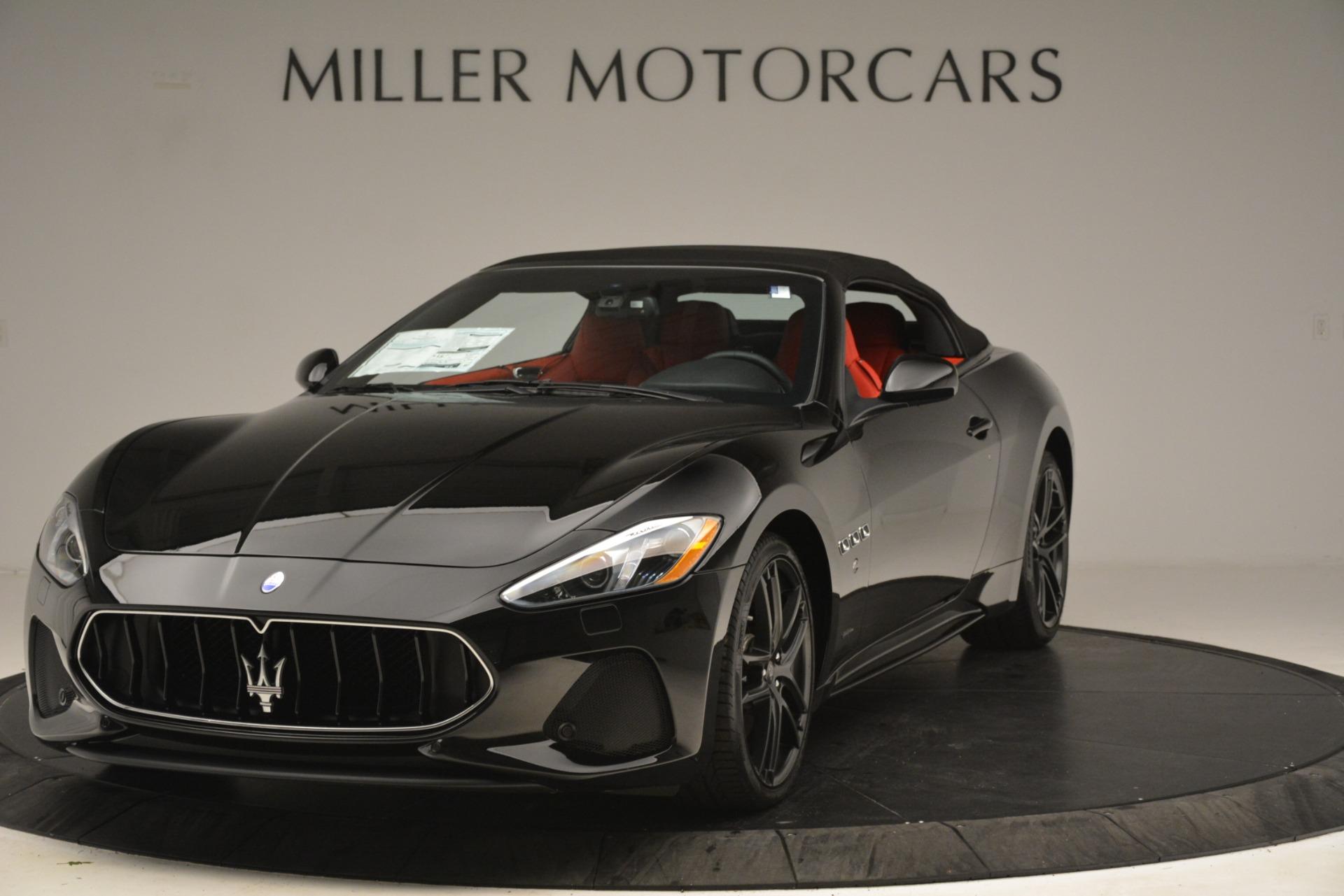 New 2018 Maserati GranTurismo Sport Convertible For Sale In Westport, CT 3137_p2