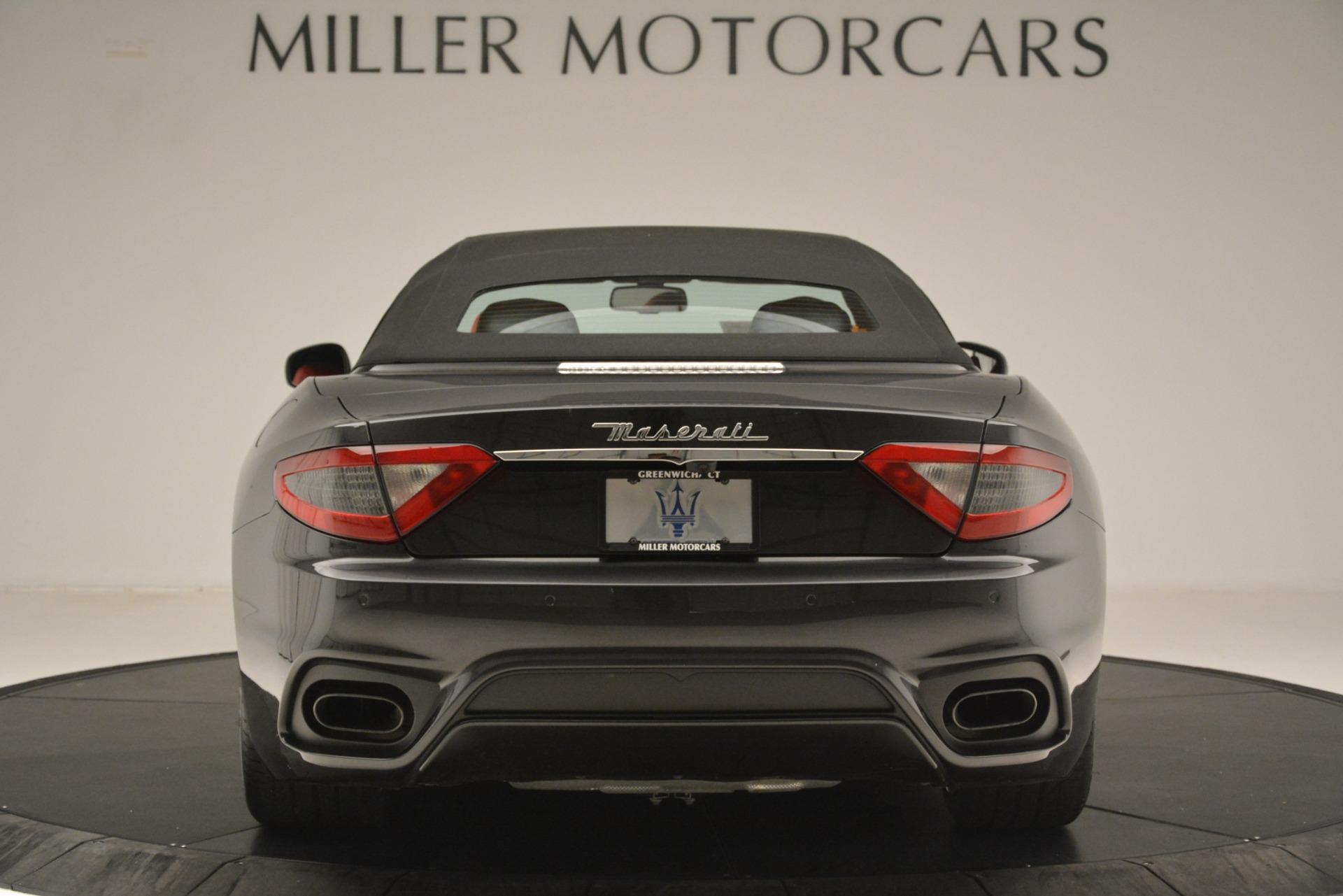New 2018 Maserati GranTurismo Sport Convertible For Sale In Westport, CT 3138_p12