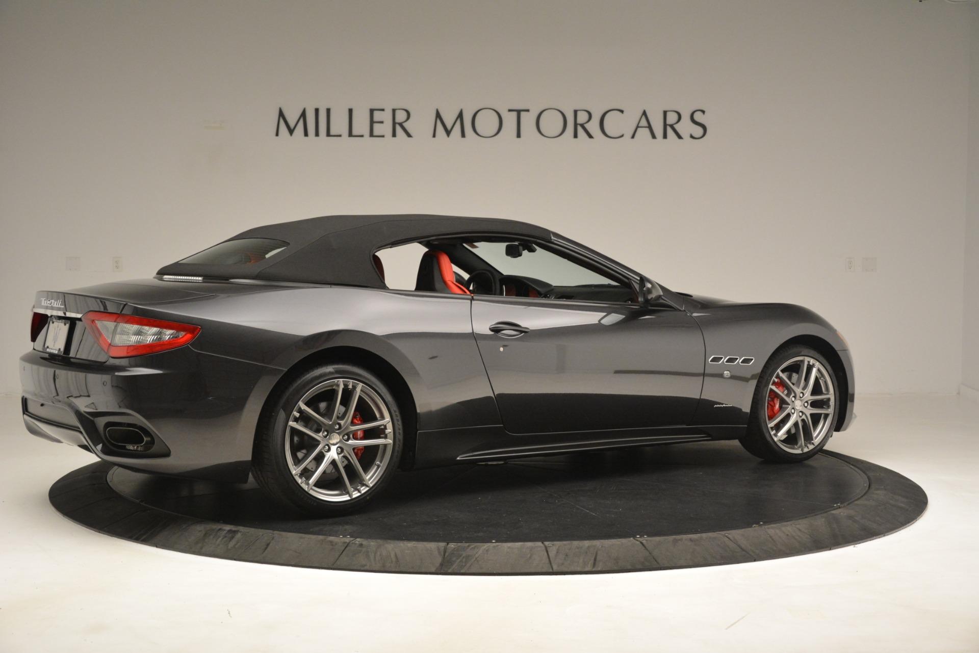 New 2018 Maserati GranTurismo Sport Convertible For Sale In Westport, CT 3138_p16