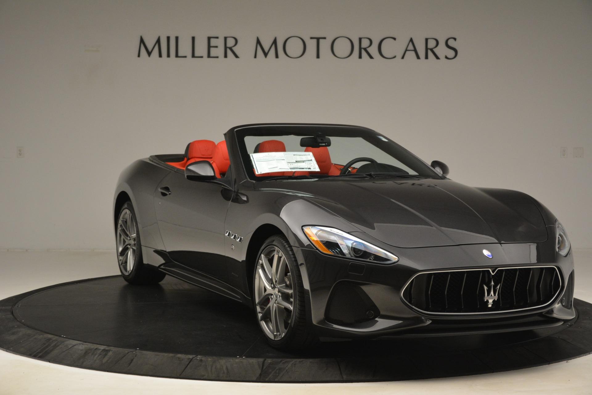 New 2018 Maserati GranTurismo Sport Convertible For Sale In Westport, CT 3138_p21