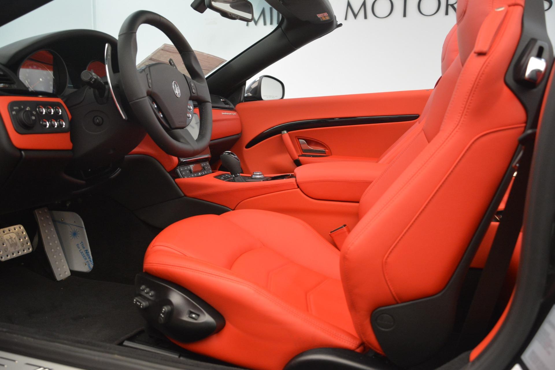 New 2018 Maserati GranTurismo Sport Convertible For Sale In Westport, CT 3138_p26