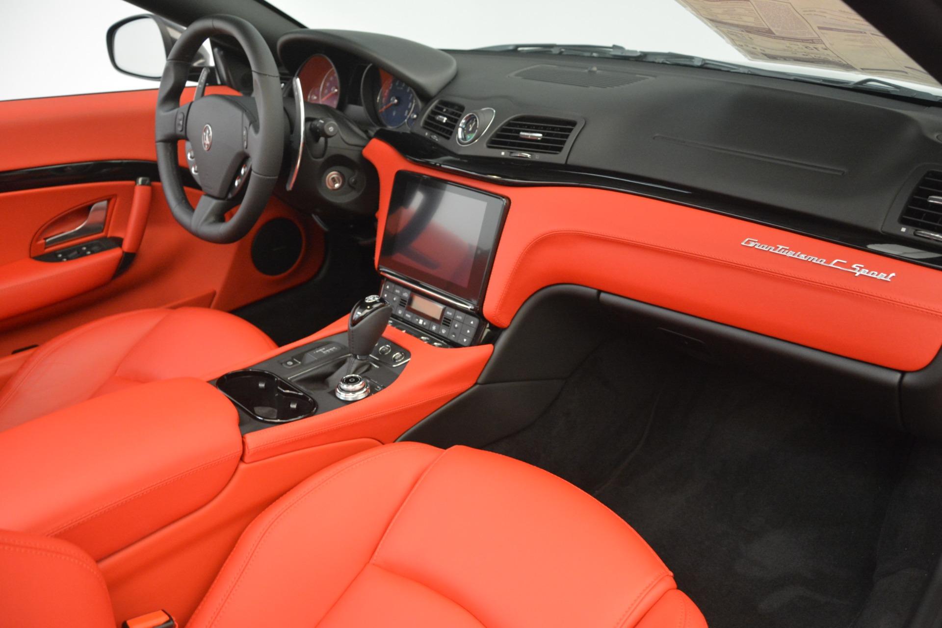 New 2018 Maserati GranTurismo Sport Convertible For Sale In Westport, CT 3138_p32