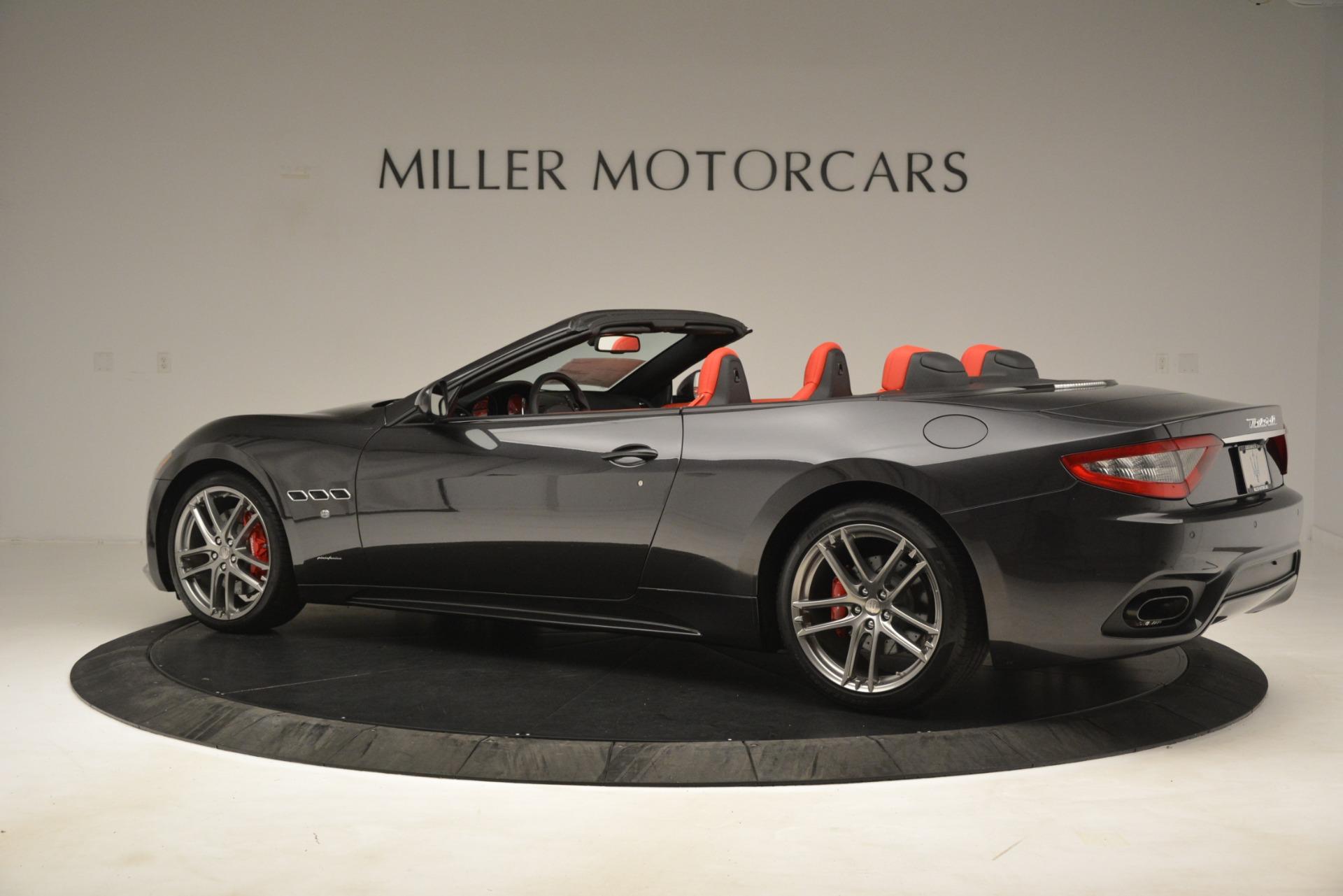 New 2018 Maserati GranTurismo Sport Convertible For Sale In Westport, CT 3138_p7