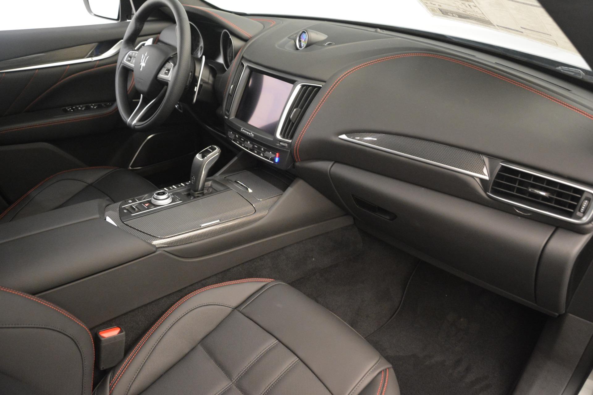 New 2019 Maserati Levante SQ4 GranSport Nerissimo For Sale In Westport, CT 3144_p22