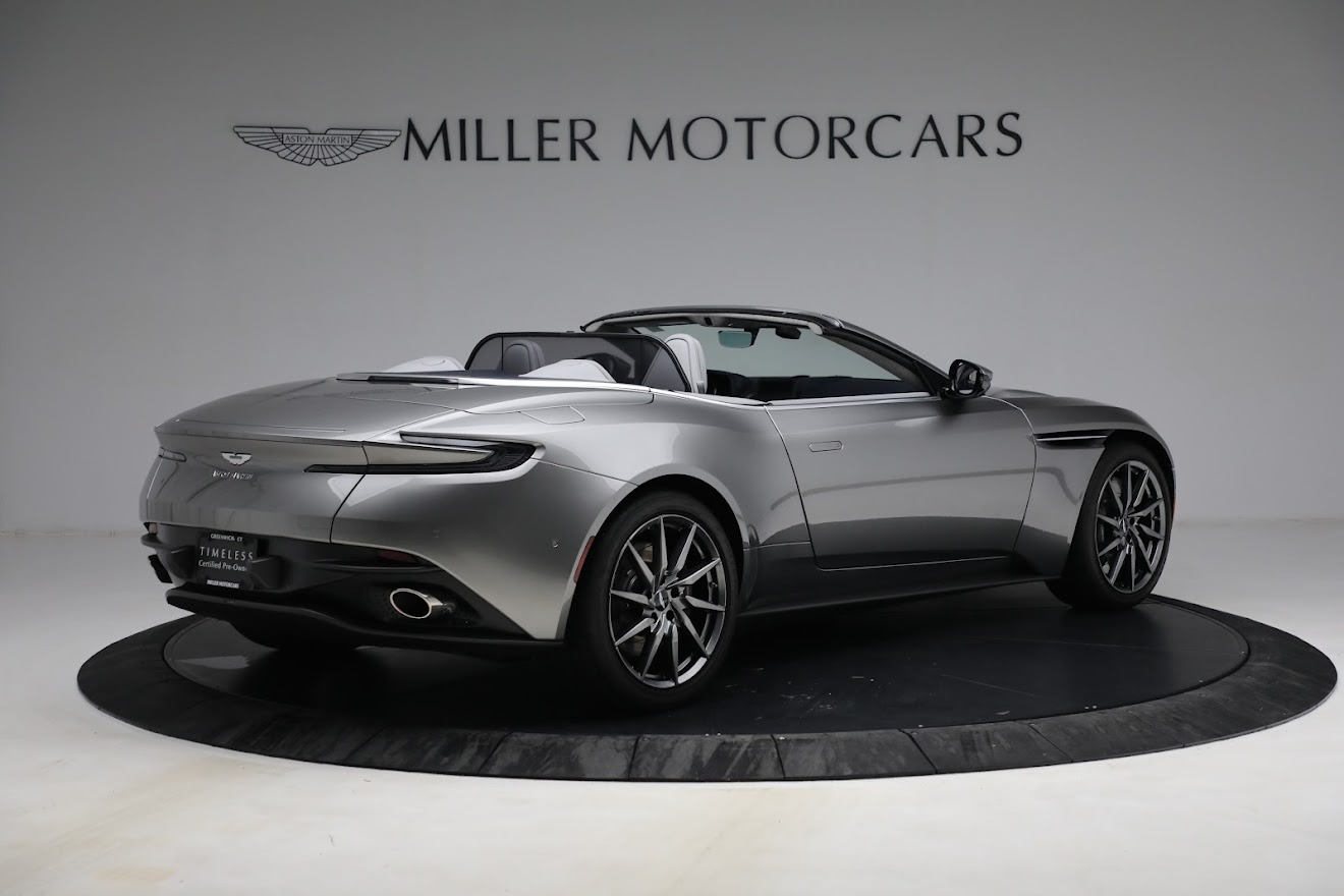 New 2019 Aston Martin DB11 V8 Convertible For Sale In Westport, CT 3147_p8